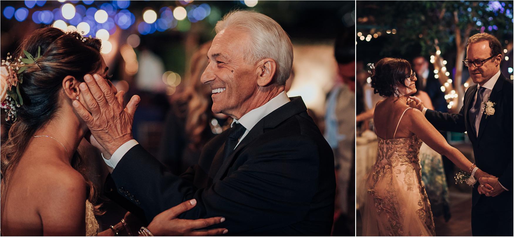 Dancing during Madsen's Greenhouse wedding reception