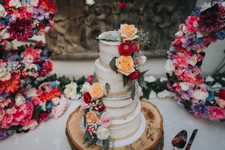 Sammycakes Wedding Cake photo at a wedding in Toronto GTA