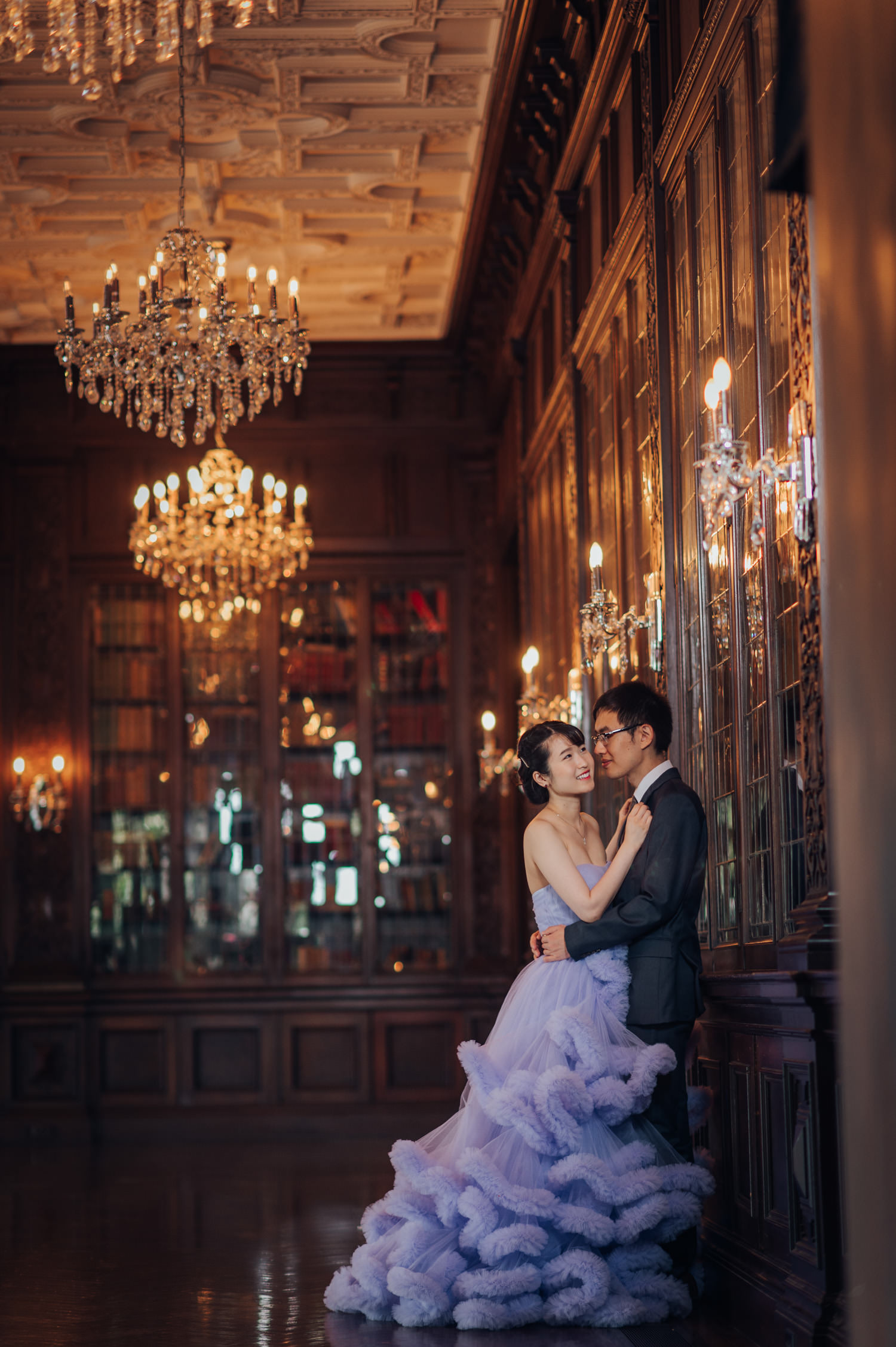 casa loma engagment photography at the grand library