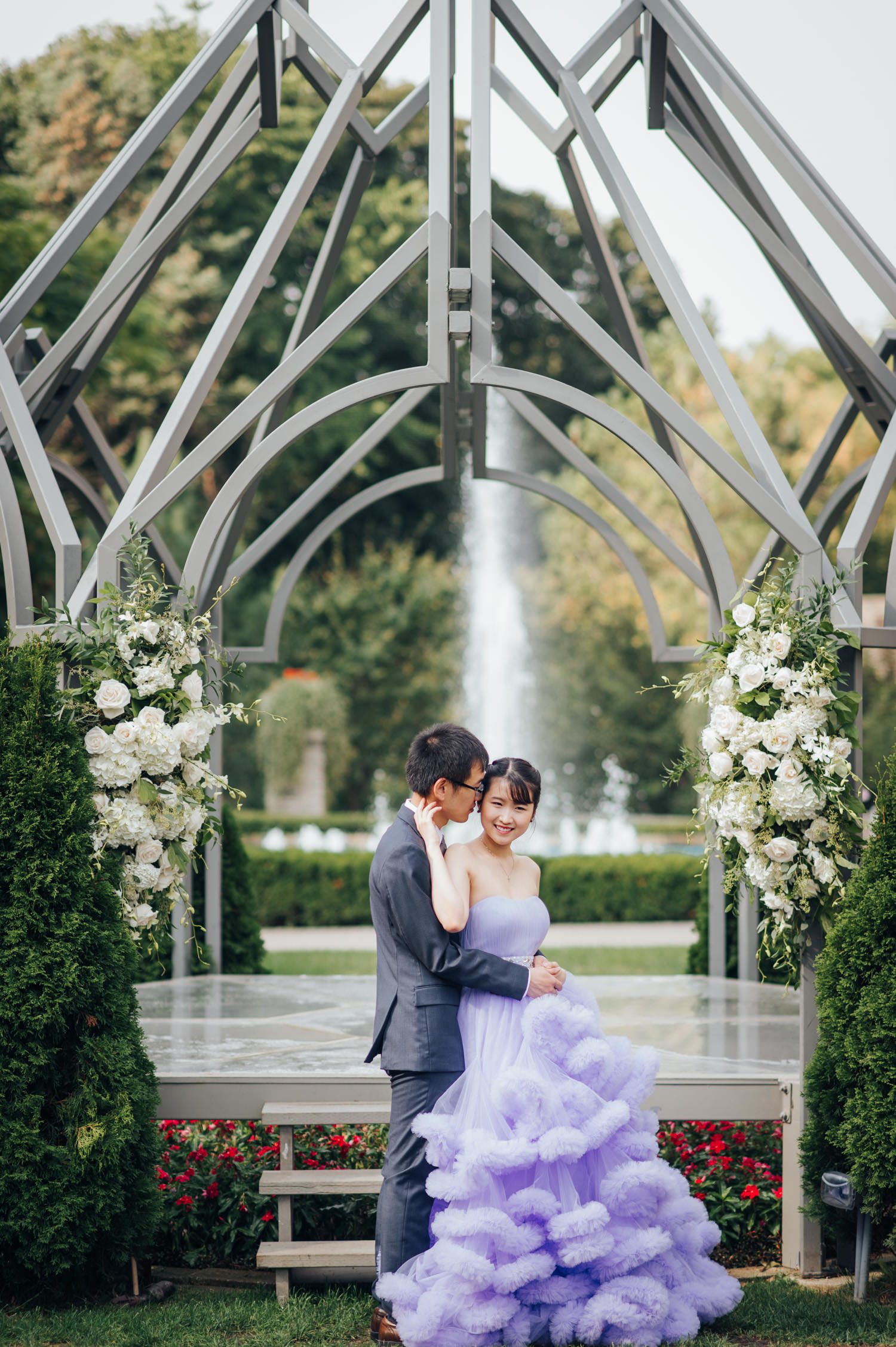 casa loma summer wedding and pre-wedding