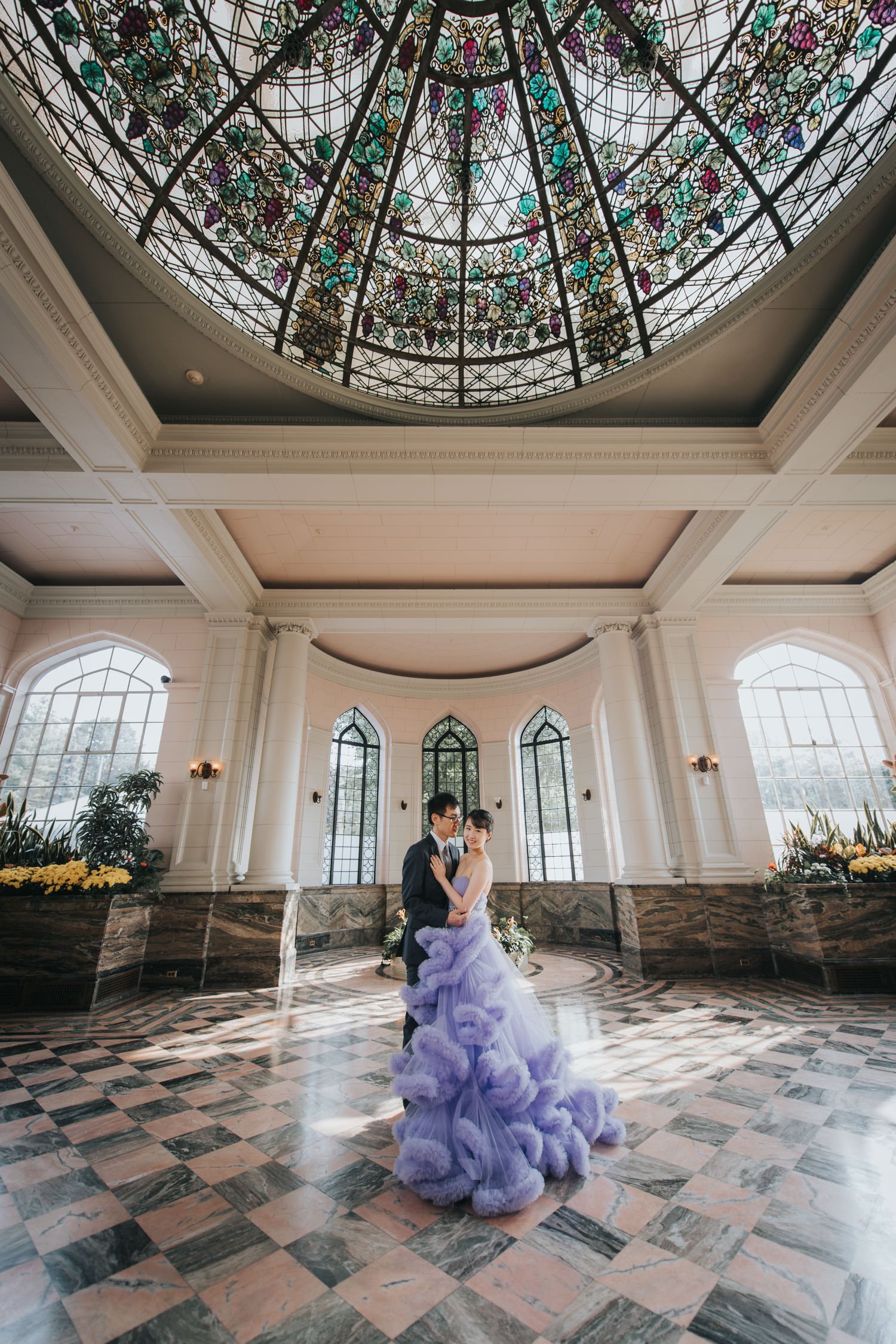 casa loma wedding conservatory