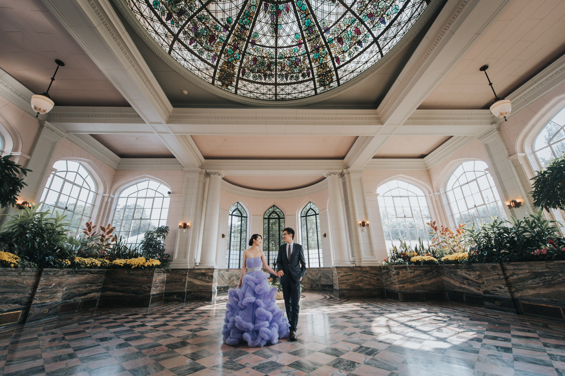 fairytale wedding photo at casa loma