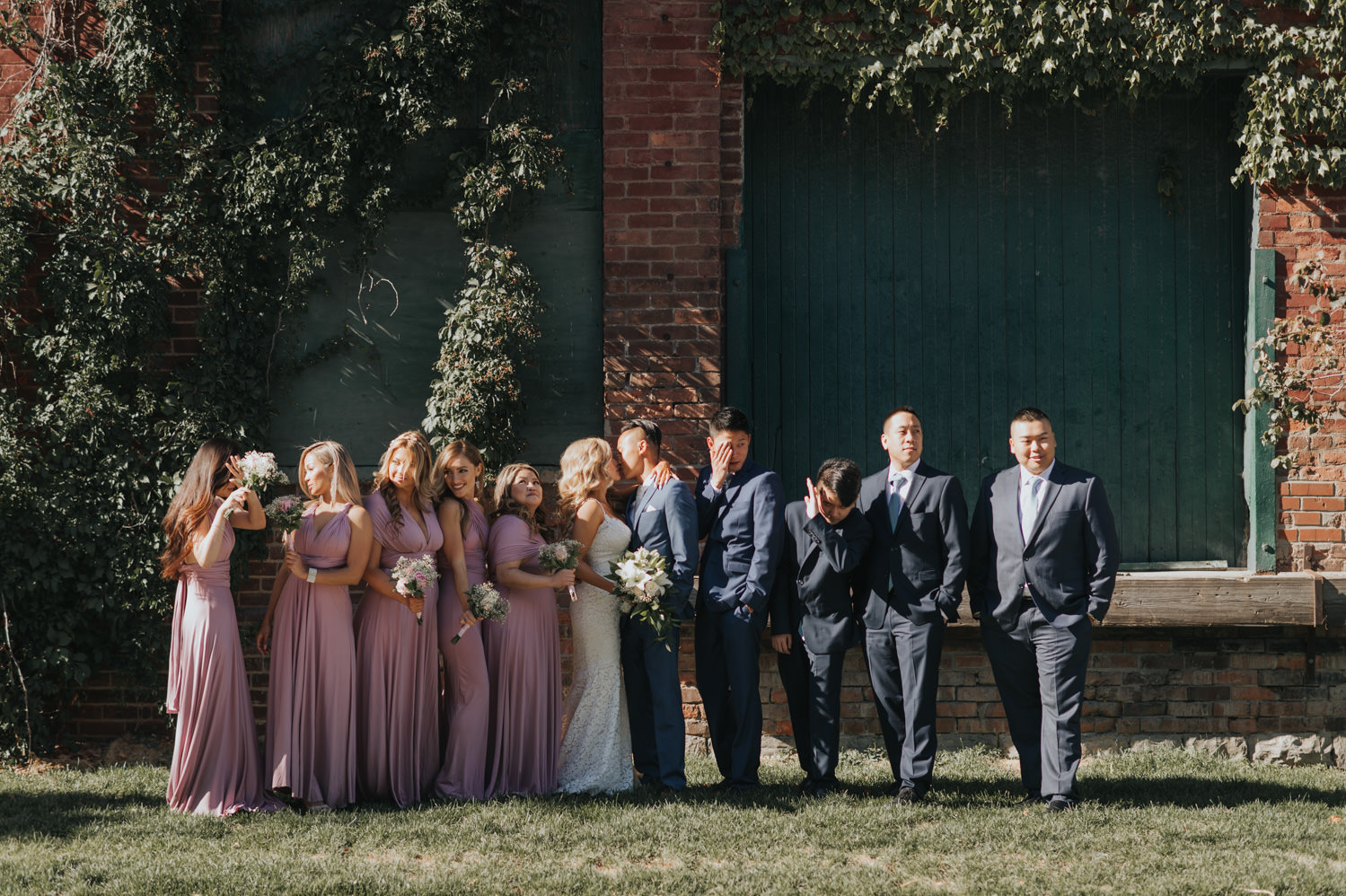 Distillery District Wedding Bridal Party