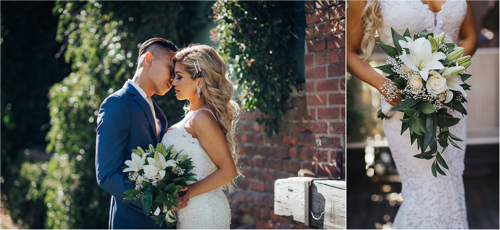 Wedding Portraits at the Toronto Distillery District