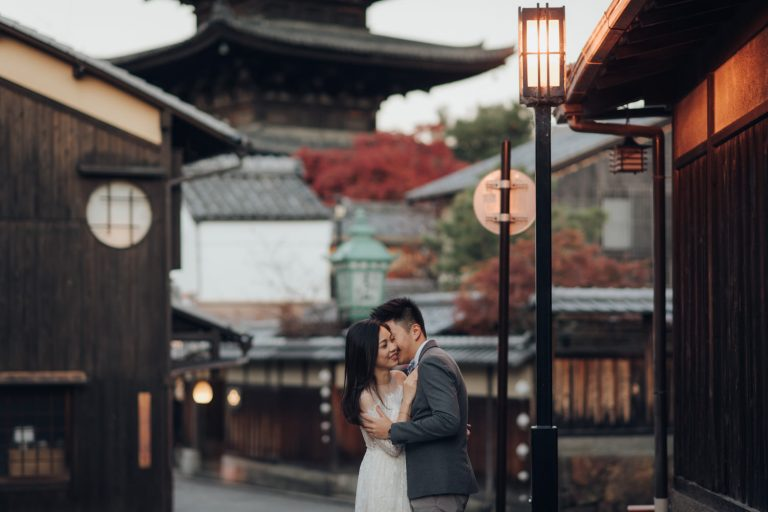 Japan Destination Pre Wedding Photo