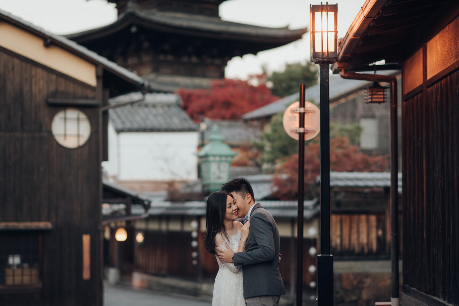 Japan Destination Pre Wedding Photo