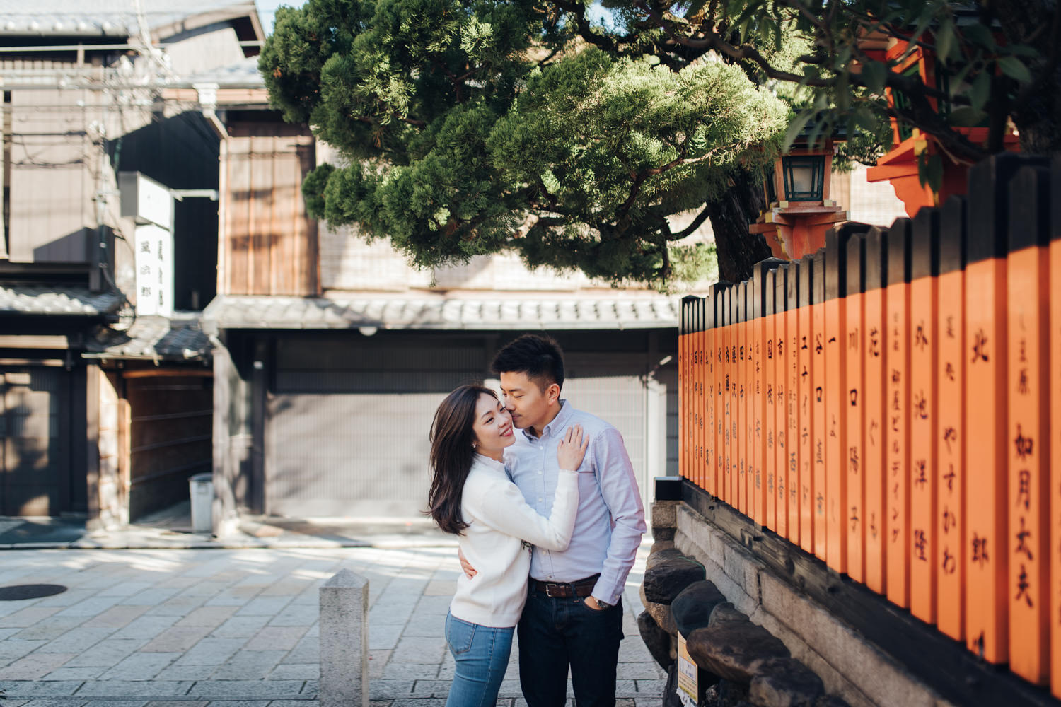 Engagement Photo in Kyoto by Toronto Destination Photographer