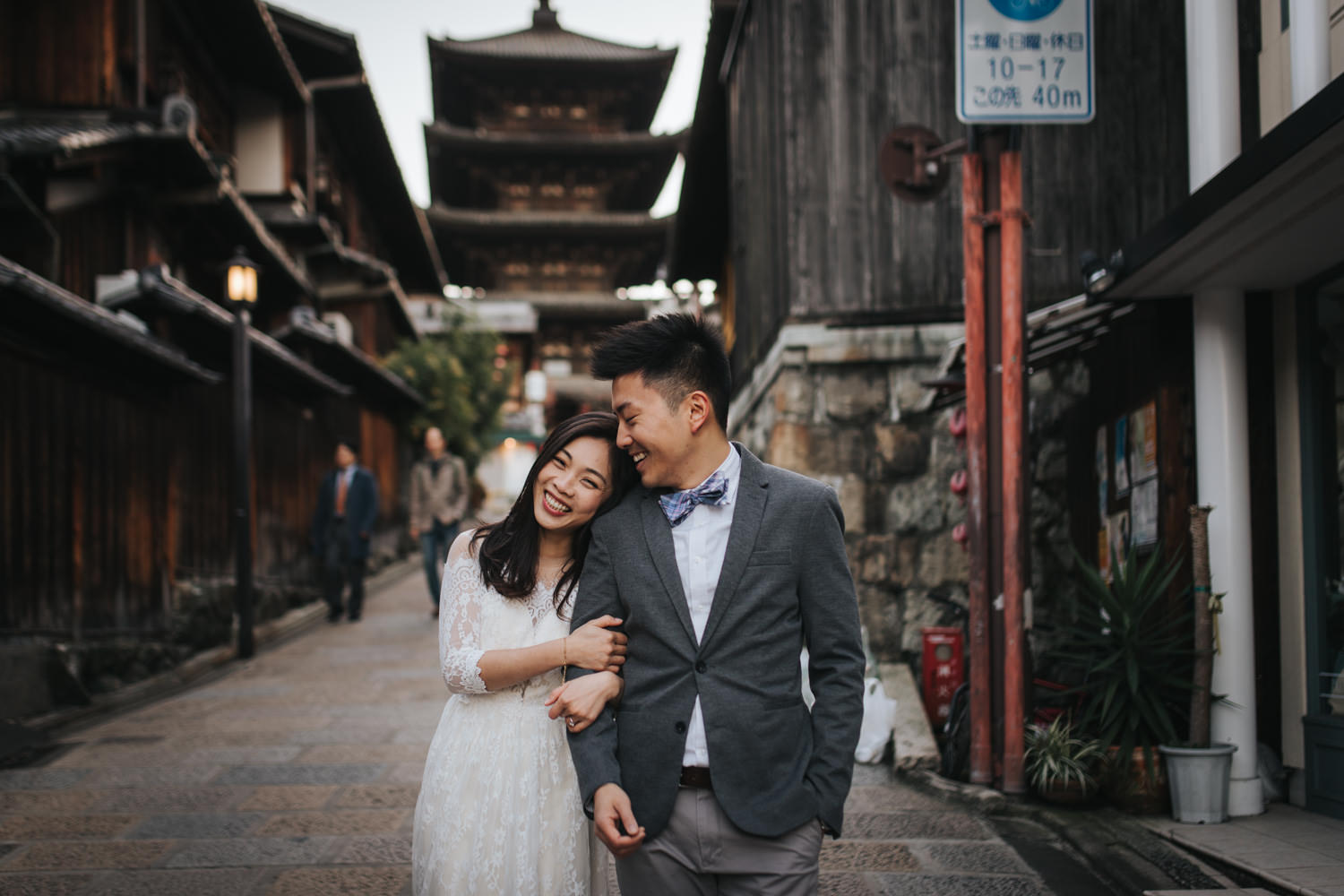 Kyoto Yakasa Pagoda Destination Pre Wedding Session