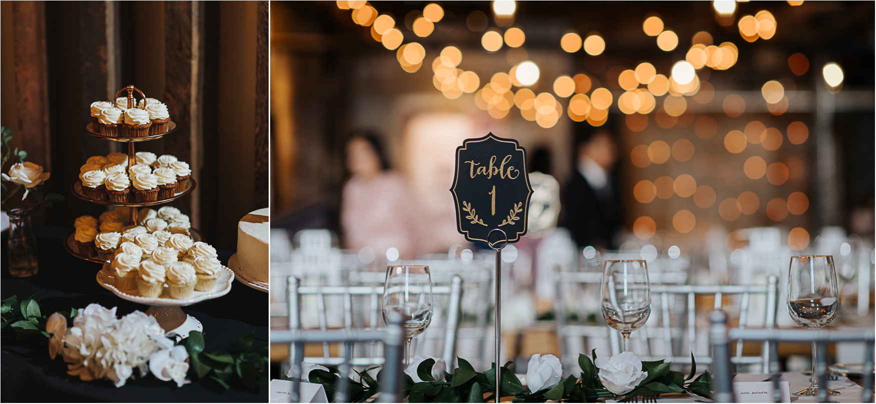 Toronto's Distrillery District Wedding at The Loft Wedding decor details