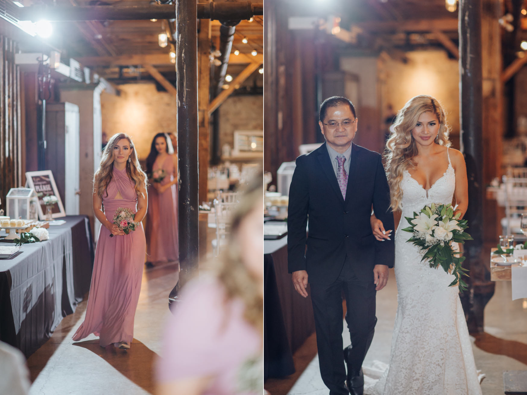 Wedding Ceremony at The Loft