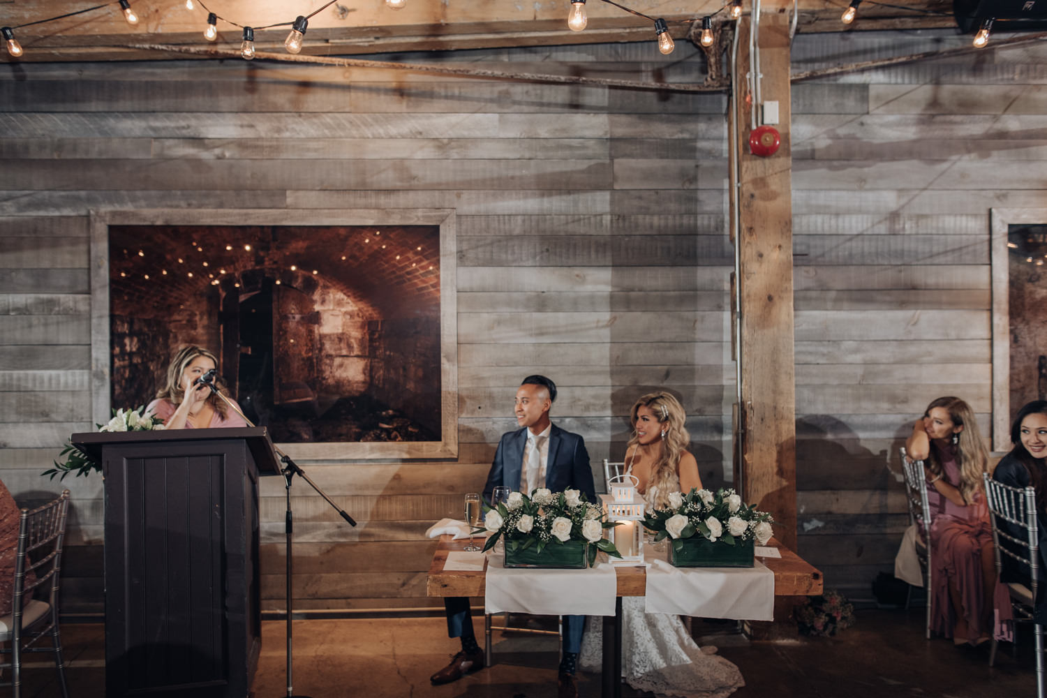 The Loft Wedding Reception