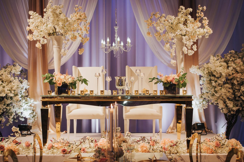 Liberty Grand Artifacts Room Wedding Sweetheart Table