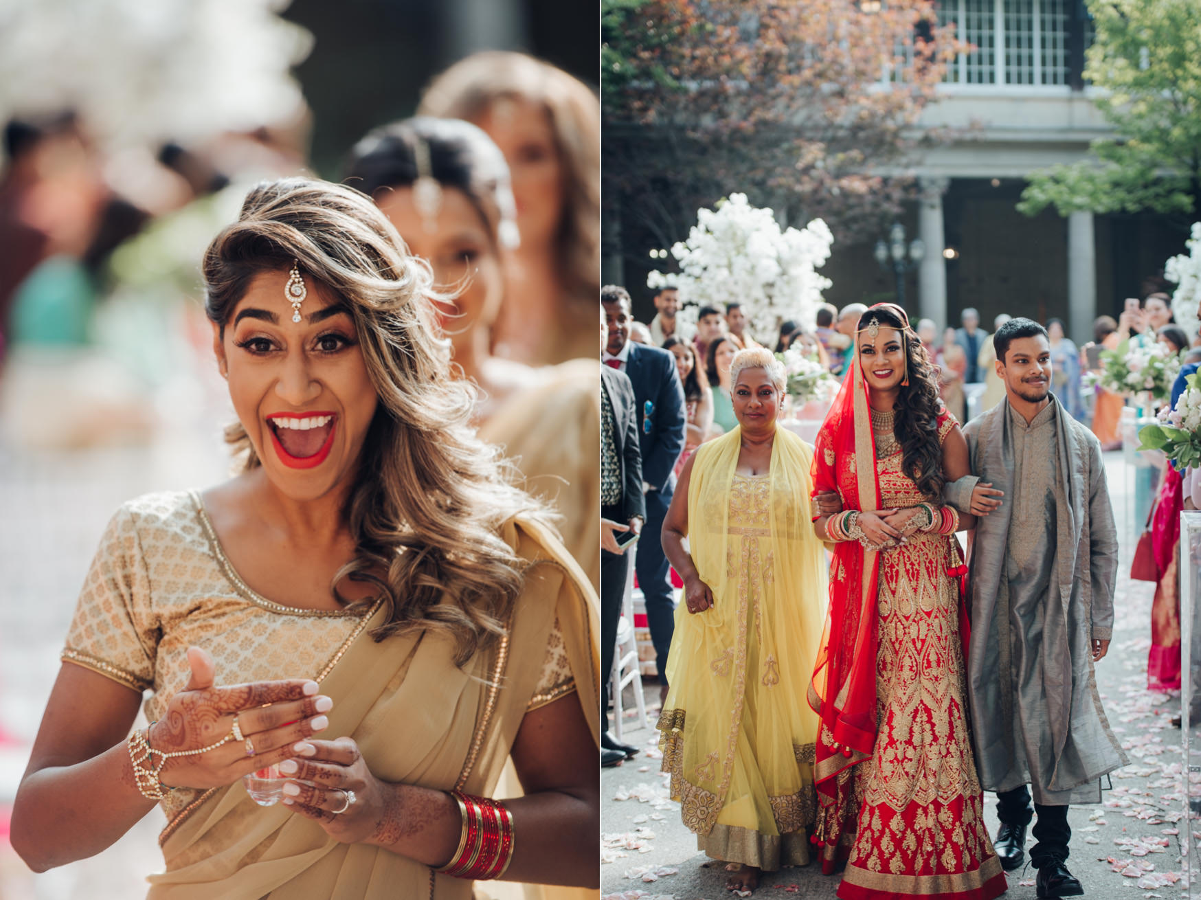 Liberty Grand Courtyard Hindu Wedding Ceremony