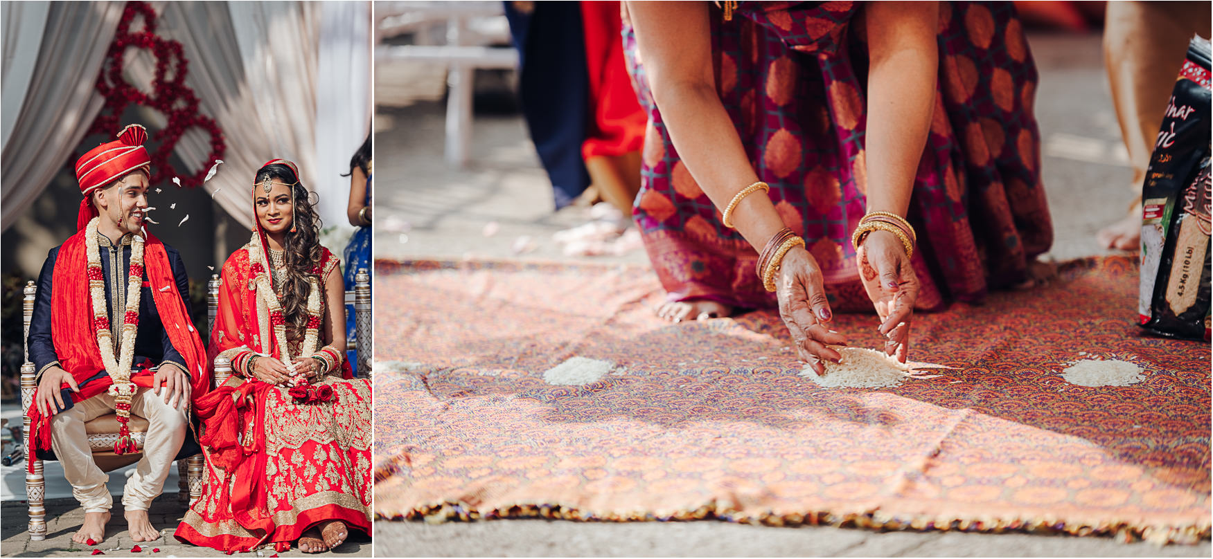Liberty Grand Courtyard Hindu Wedding Detail