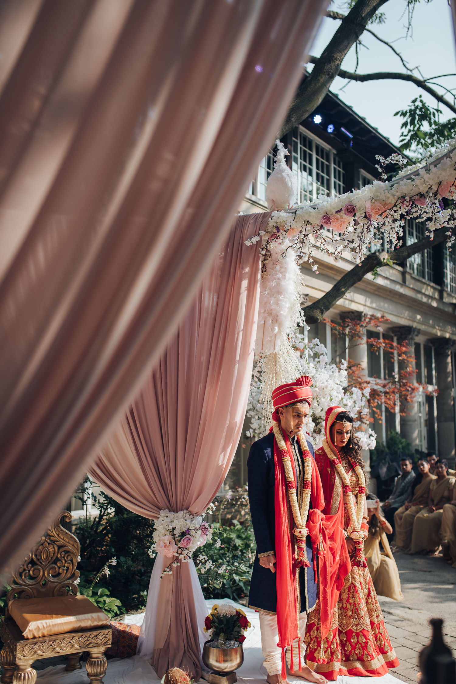 Liberty Grand Courtyard Hindu Wedding