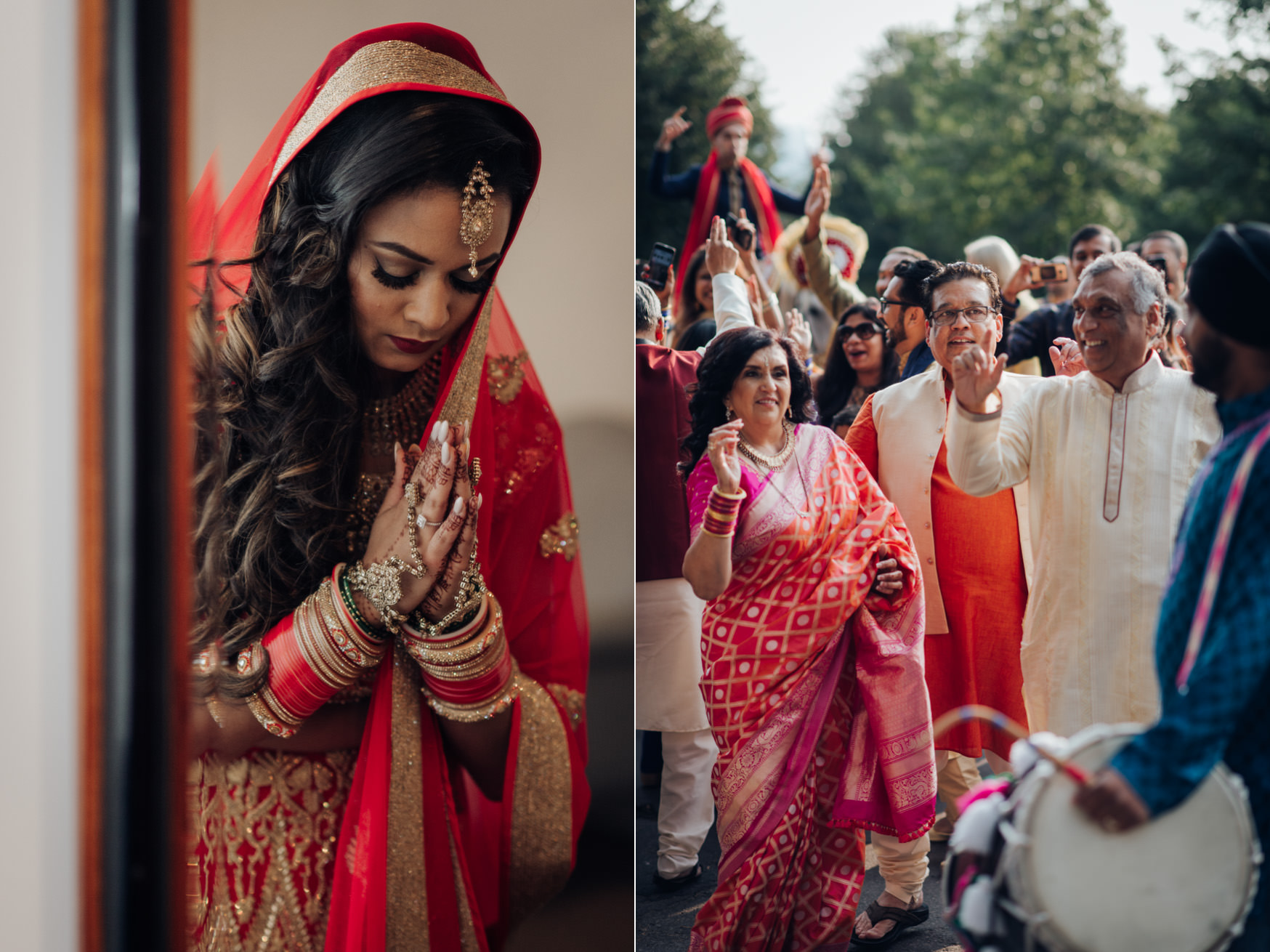 Toronto Hindu Wedding Baraat