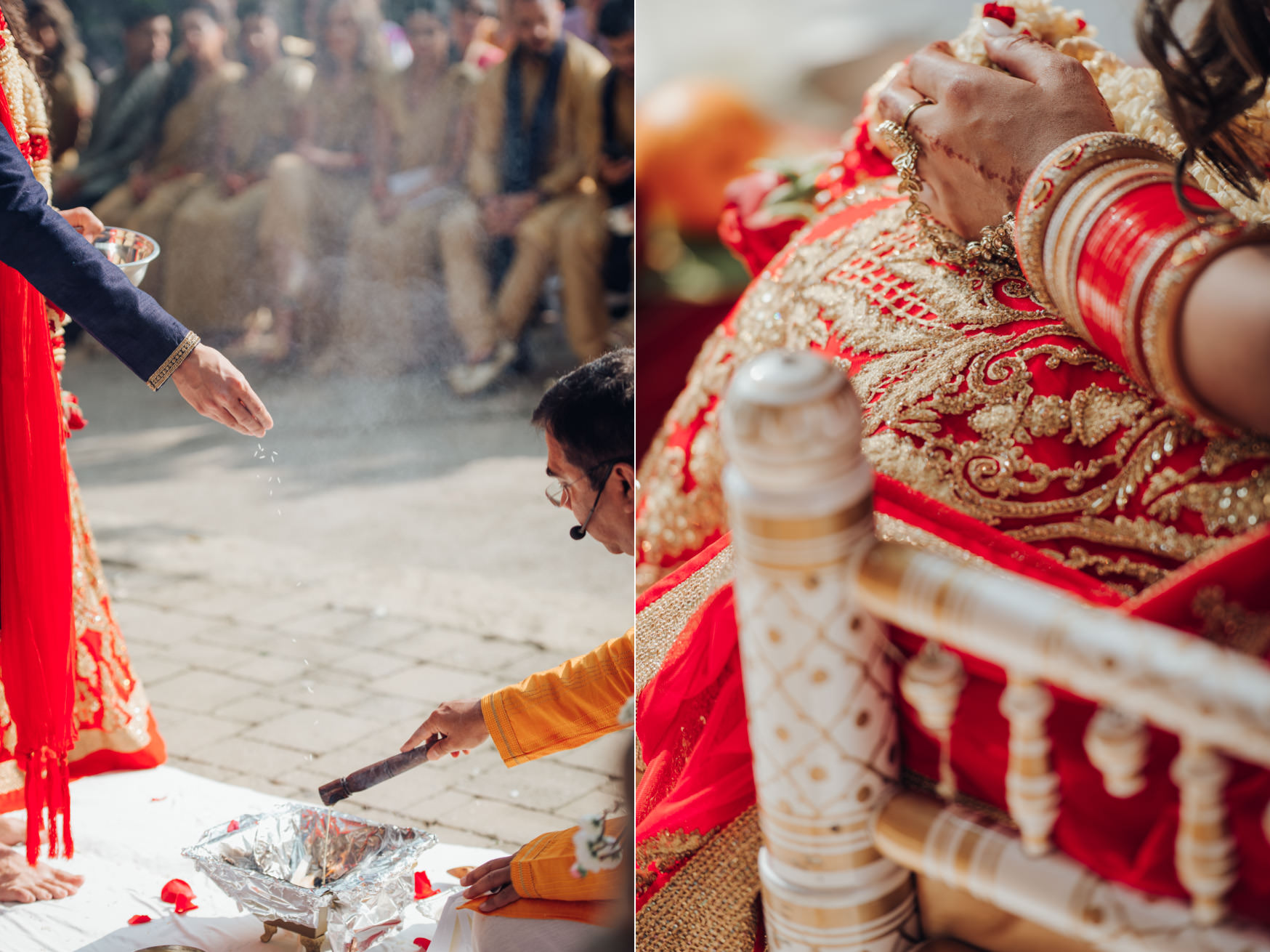 Toronto Hindu Wedding Ceremony details