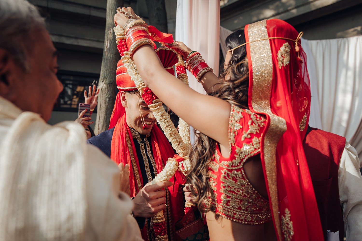 Toronto Liberty Grand Courtyard Hindu Wedding