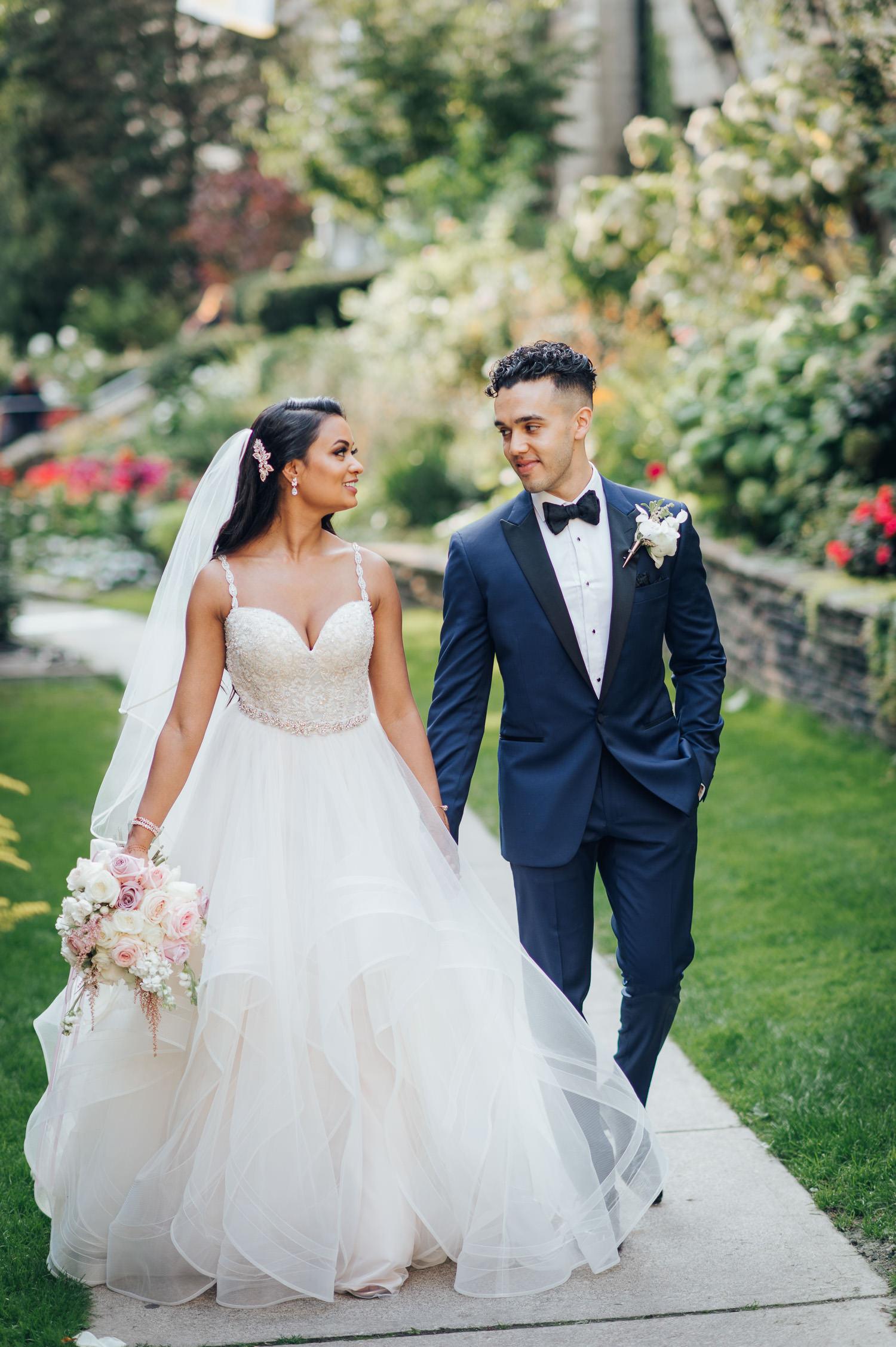 Toronto Victoria University Wedding Photography
