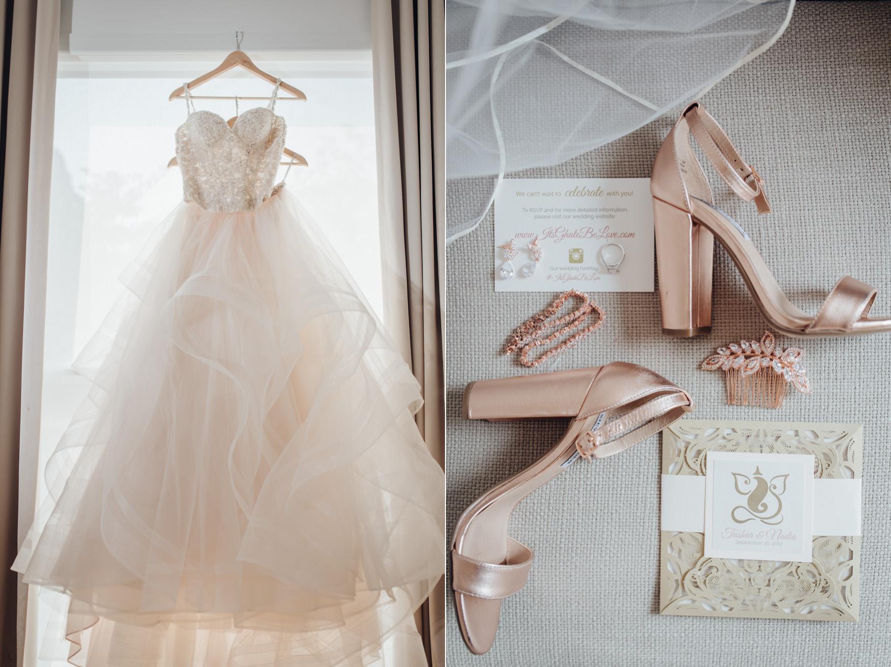 Toronto Wedding Bride Getting Ready Details