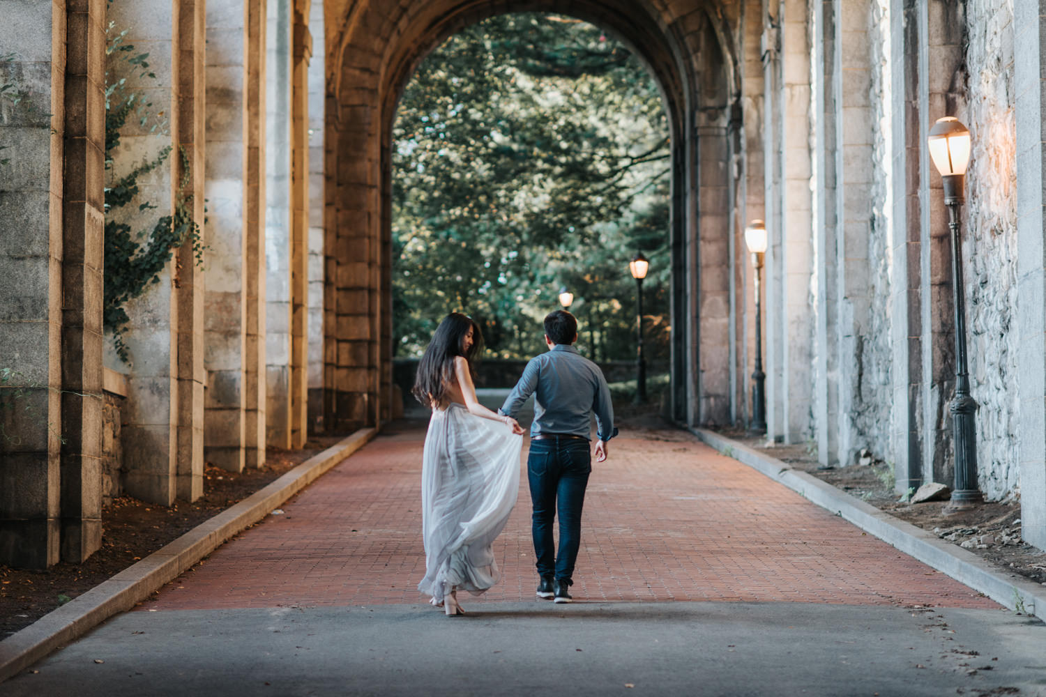 New York Pre-Wedding Session at the Cloisters