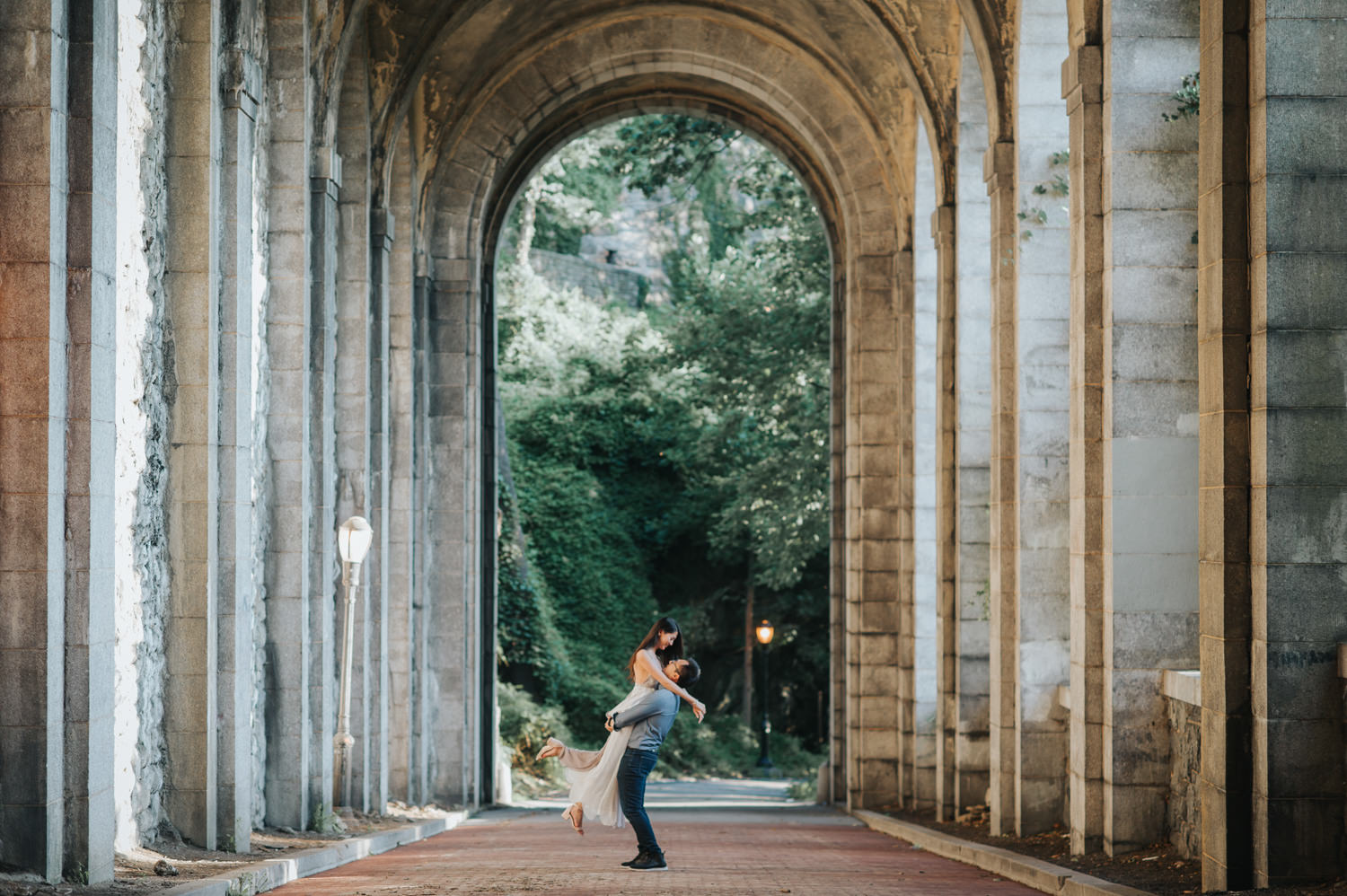 New York Manhattan Cloisters Pre-Wedding Photography