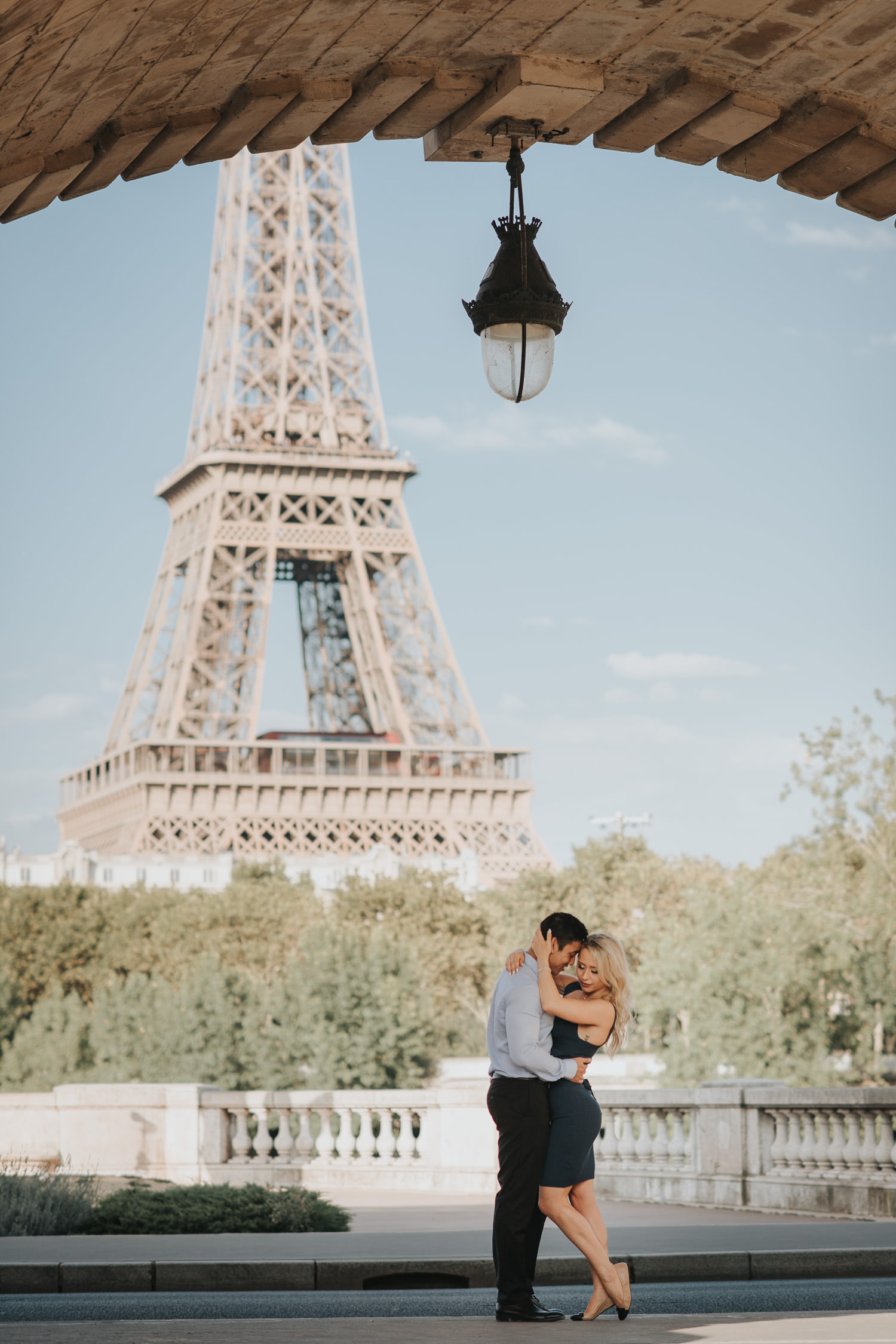 Eiffel Tower Engagement