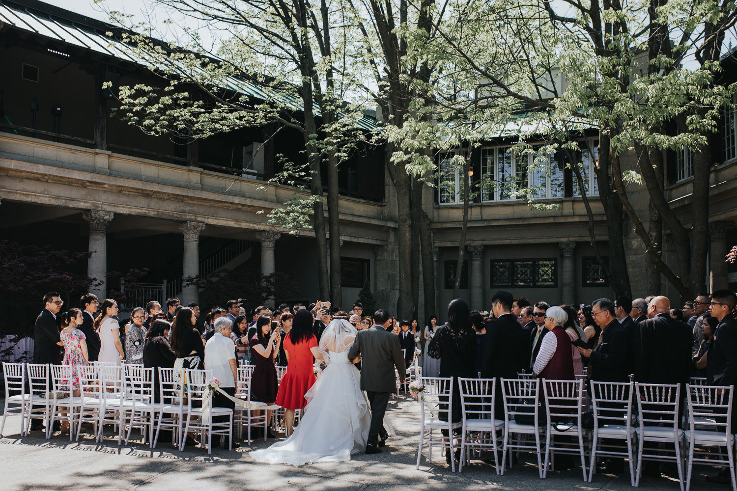 Liberty Grand Wedding Ceremony processional