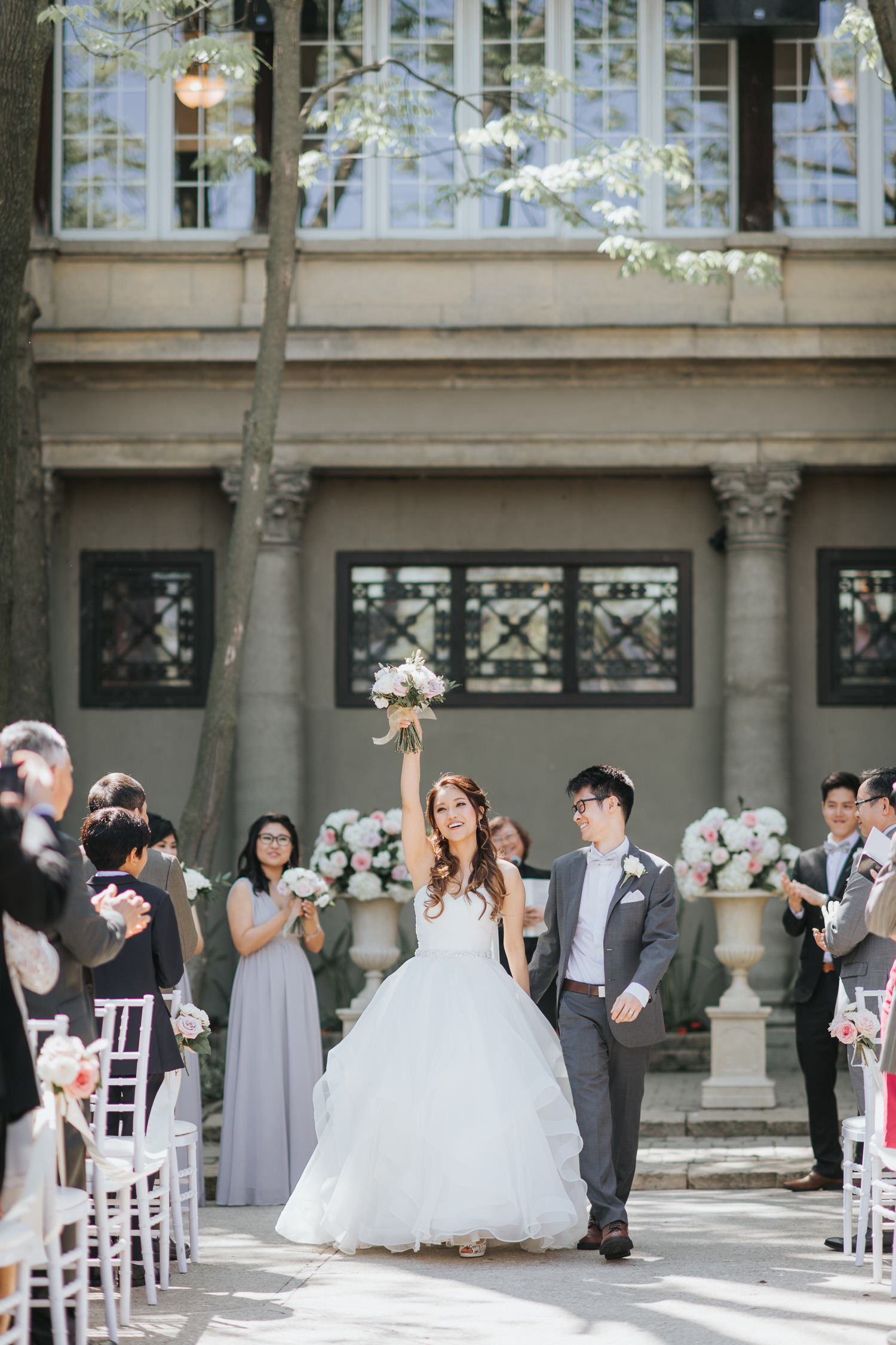 Liberty Grand Wedding Ceremony recessional