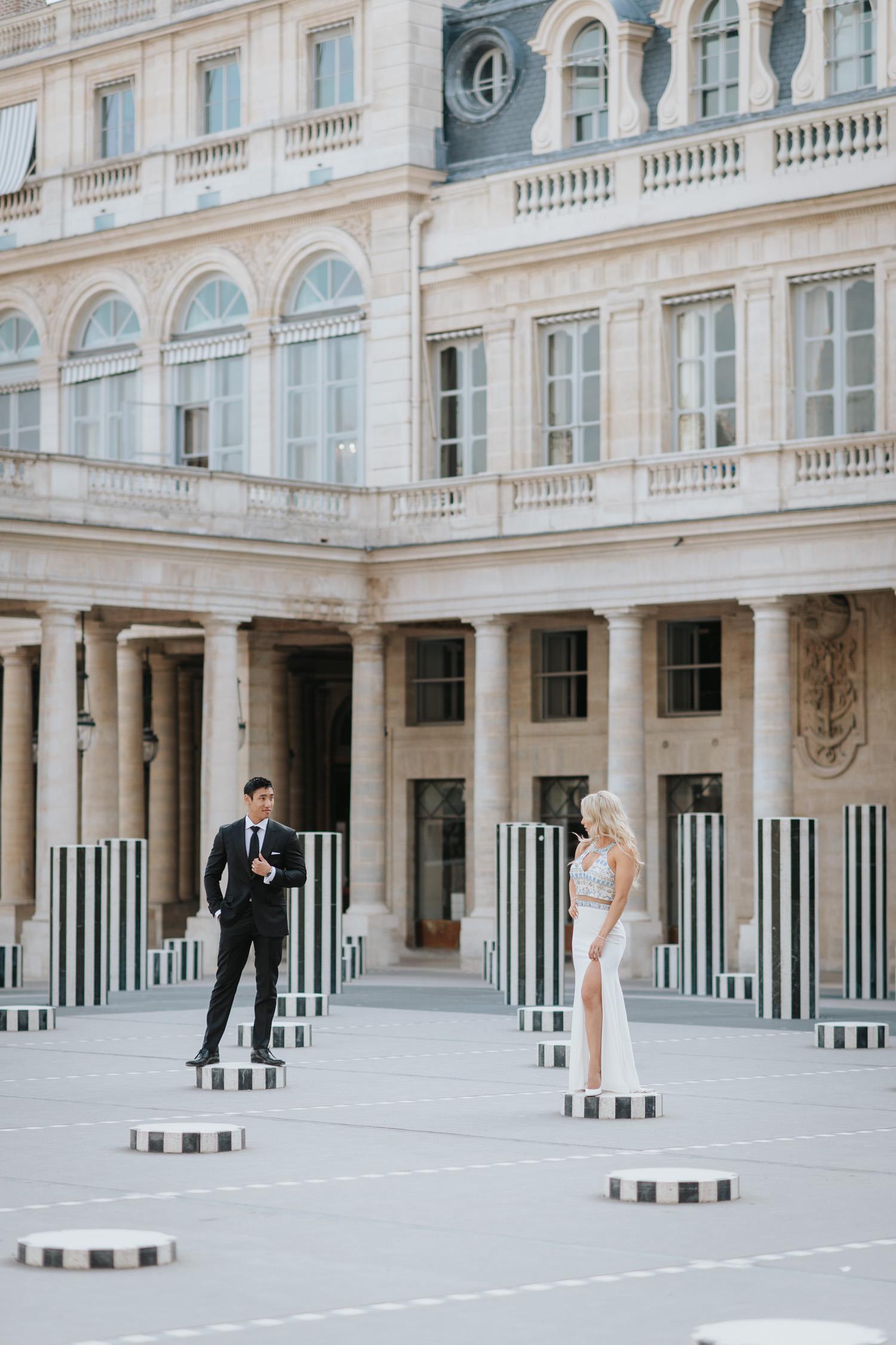 Palais Royal Wedding Photography