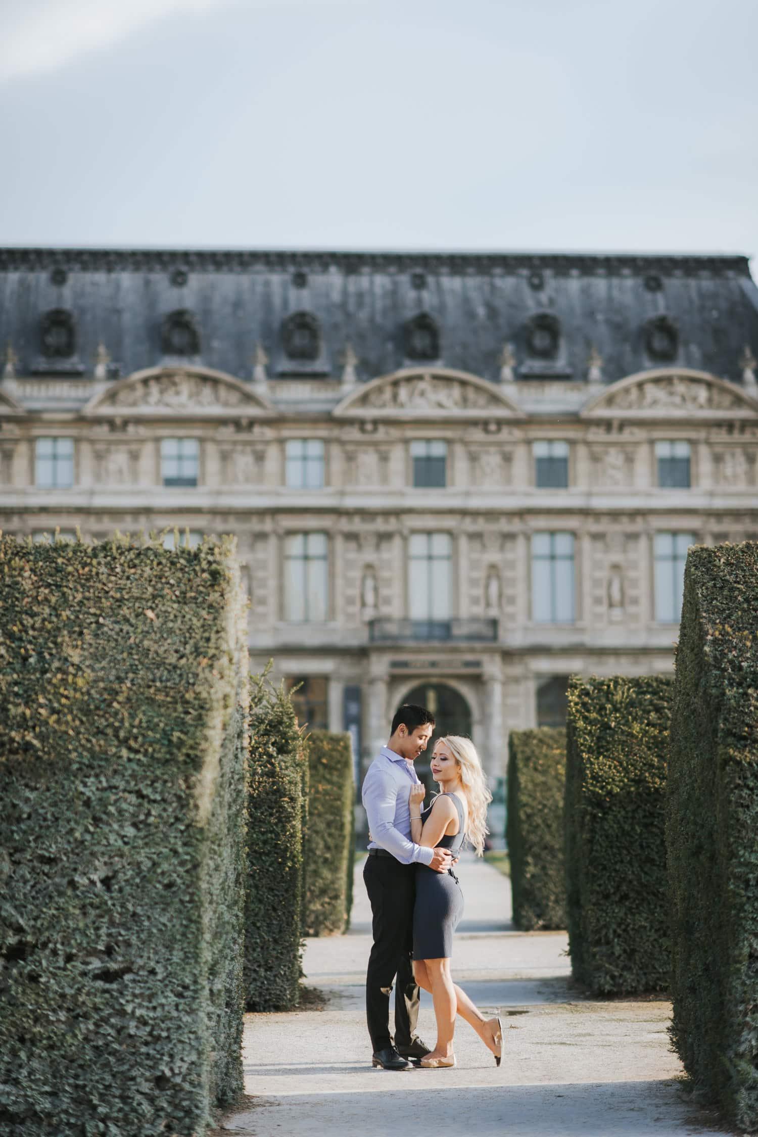 Paris Elopement Photo Session