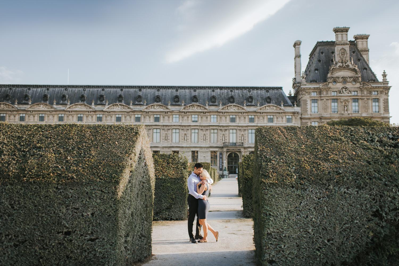 Paris Elopement Photo