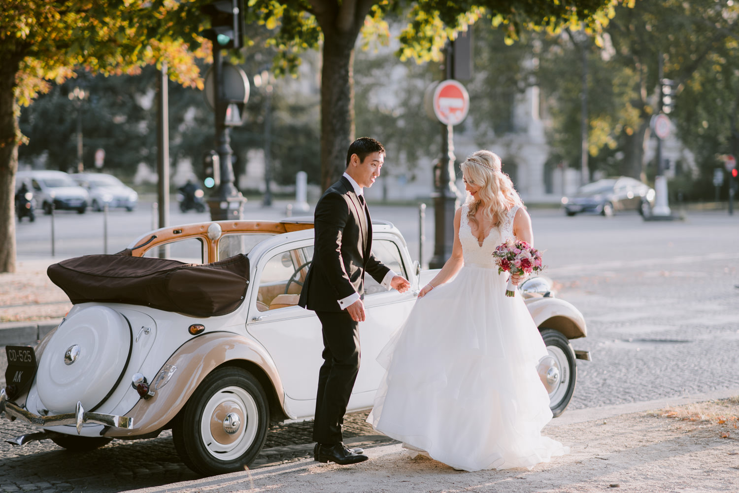 Romantic French Elopement