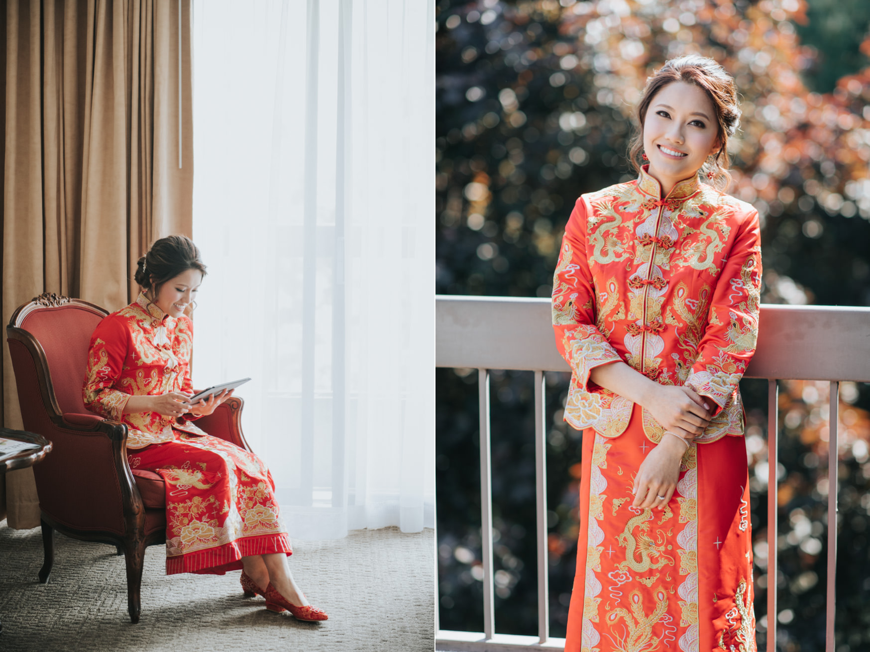 Toronto Chinese Wedding bridal portrait Eric Cheng Photography