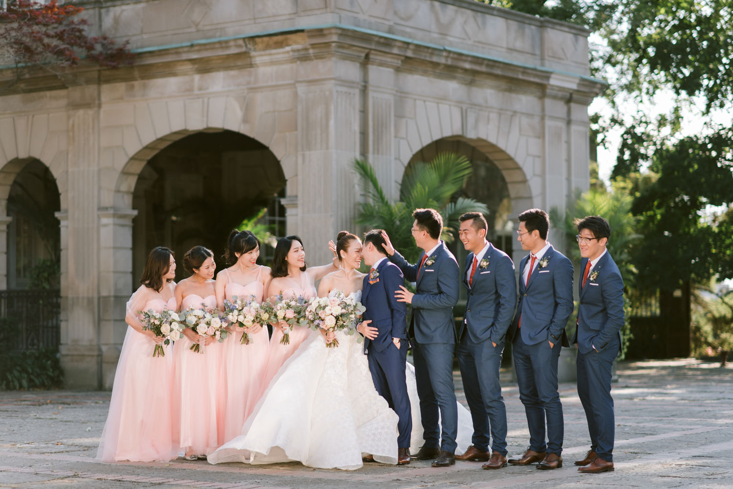 Bridal Party at the Graydon Hall Manor