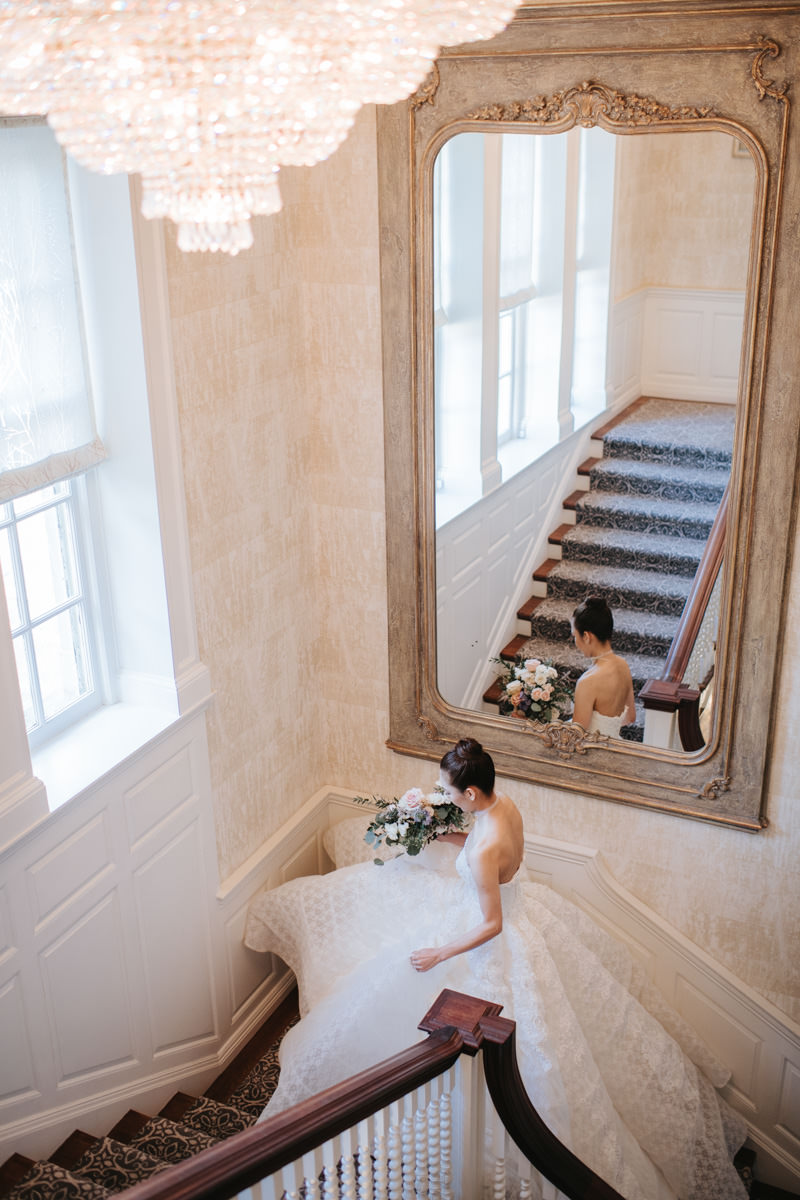 Bridal Portrait inside the Graydon Hall Manor