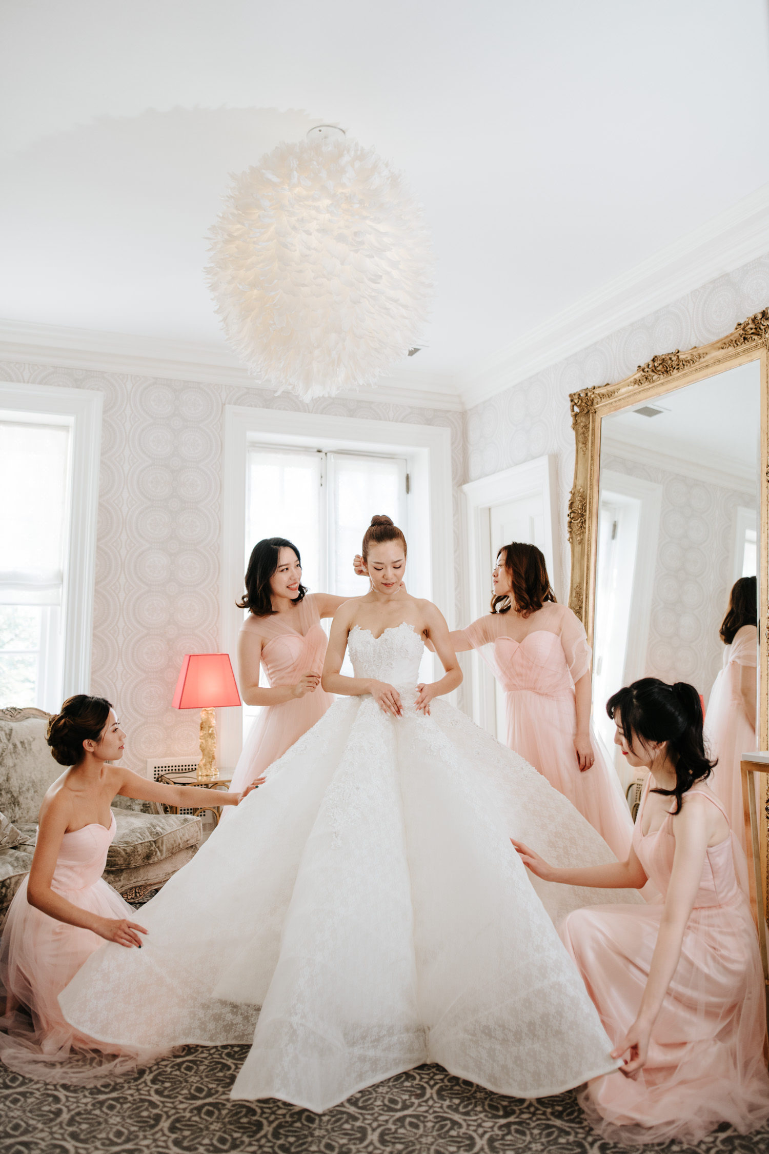 Graydon Hall Manor Bridal Suite