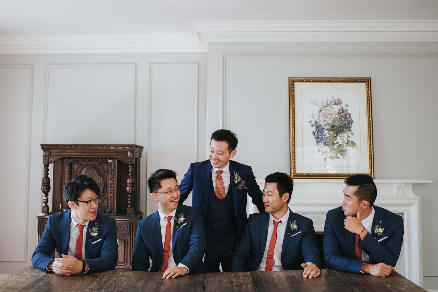 Groomsmen Photo at the Graydon Hall Manor