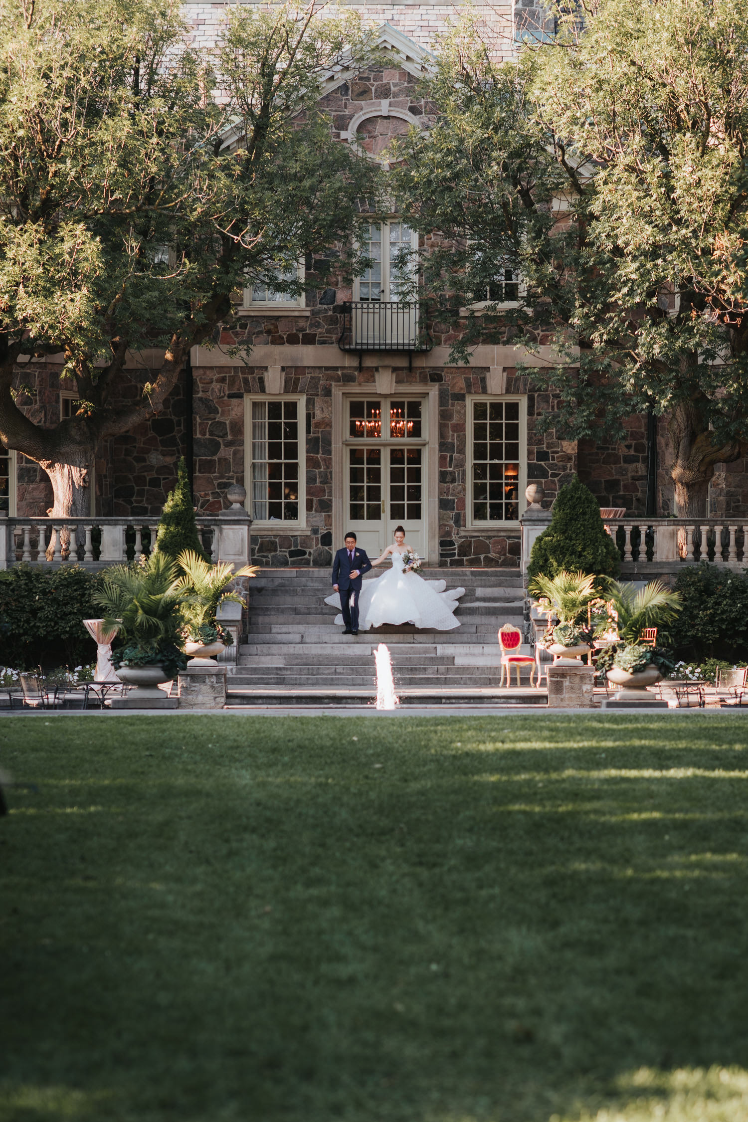 Graydon Hall Outdoor Wedding Ceremony Processional