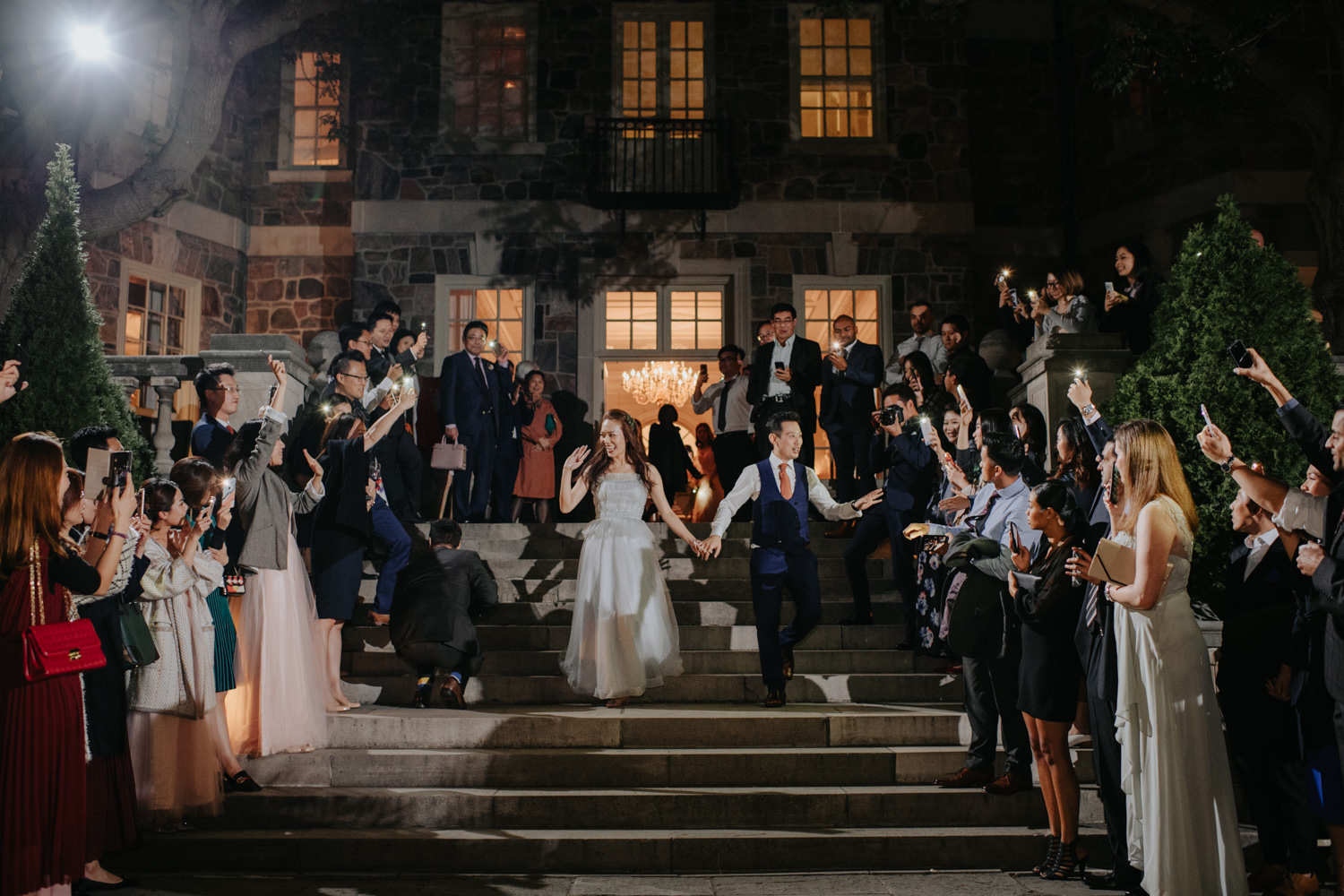Graydon Hall Outdoor Wedding First Dance