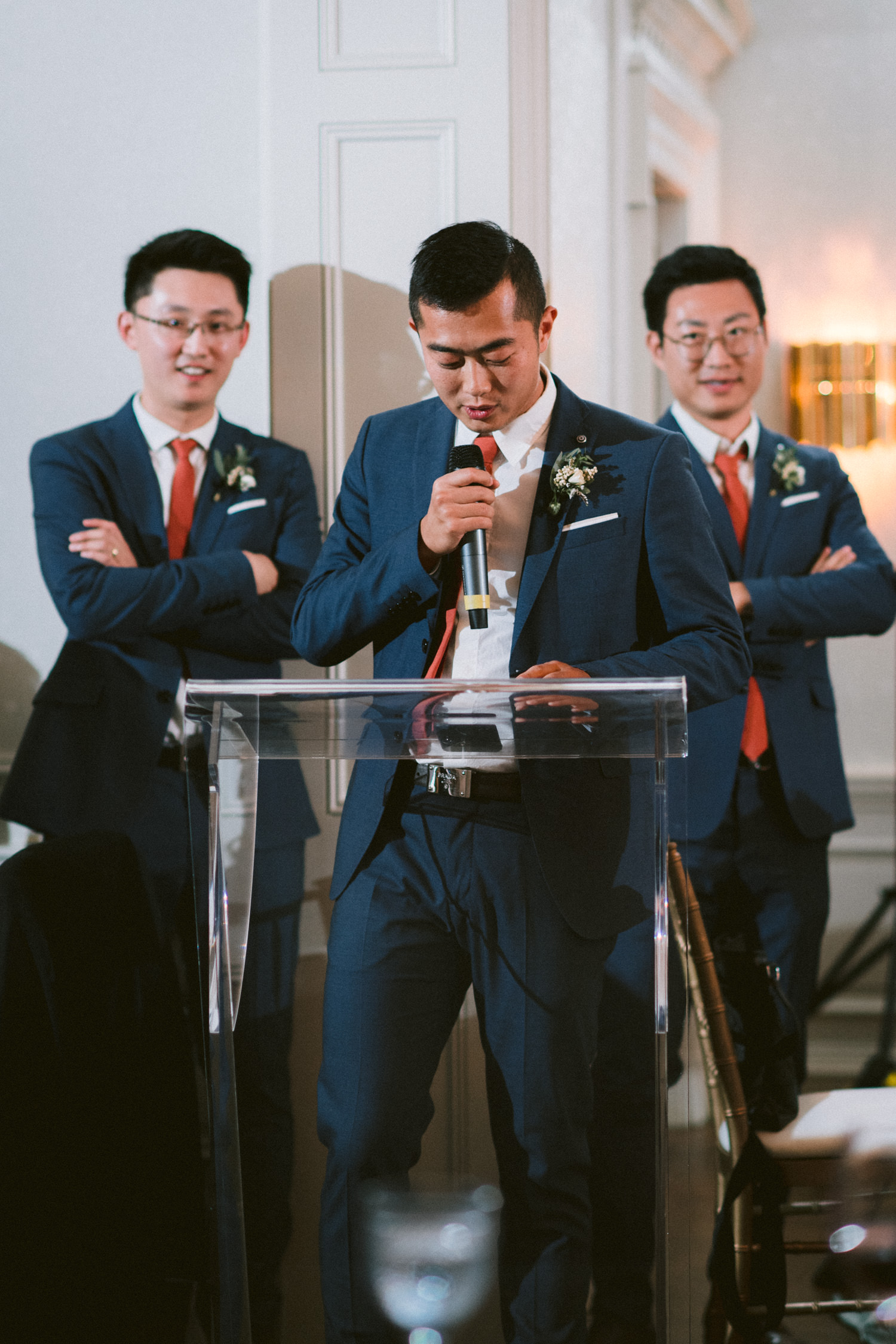 Groomsmen Speech at The Graydon Hall wedding reception