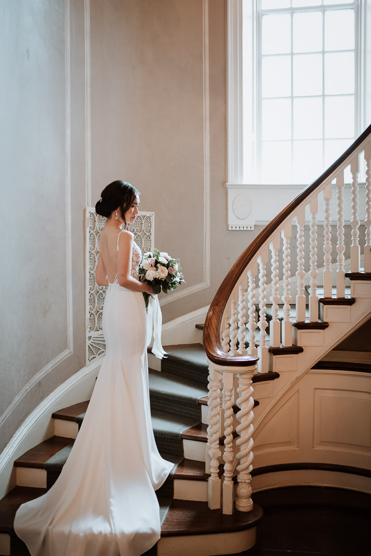 Mclean House Indoor Wedding Photo at the Estates of Sunnybrook