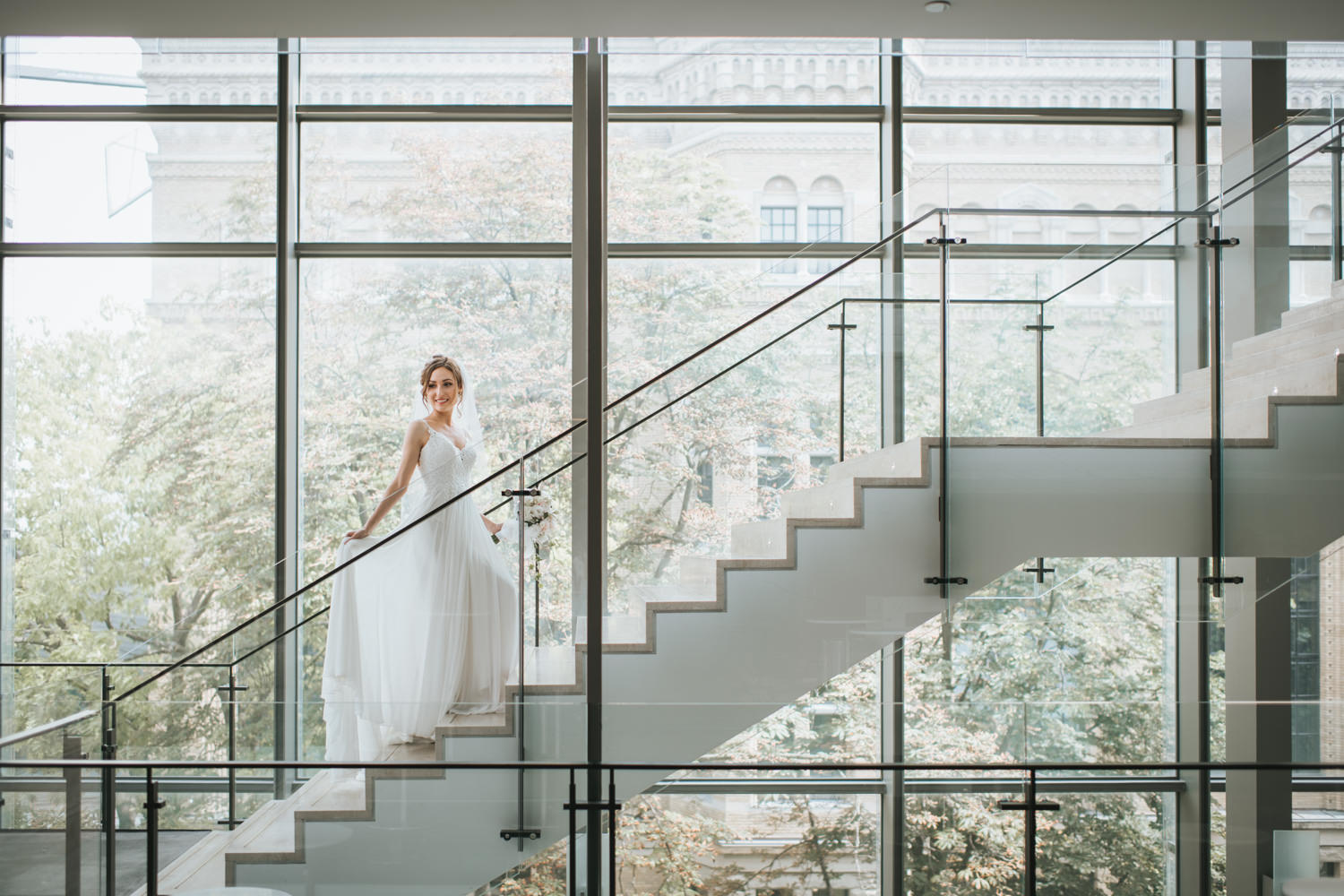 Bridal Portrait at the RCM Staircase