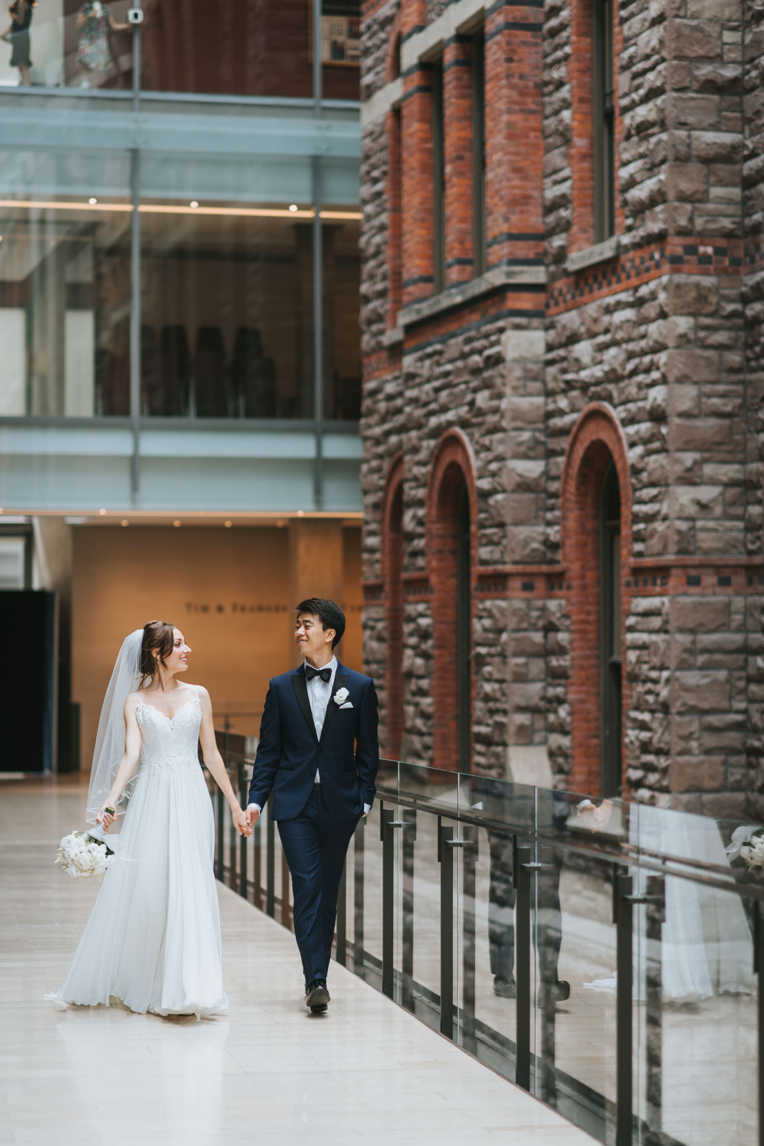 Toronto Royal Conservatory of Music Wedding Photo
