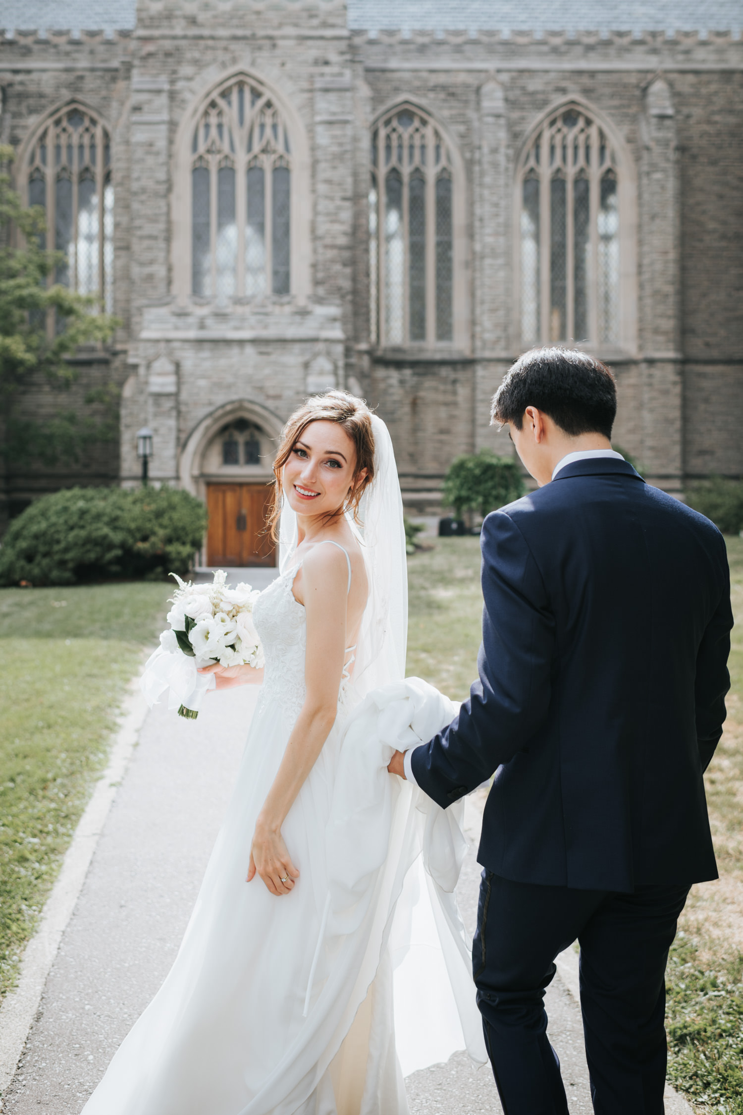 Toronto Trinity College Wedding
