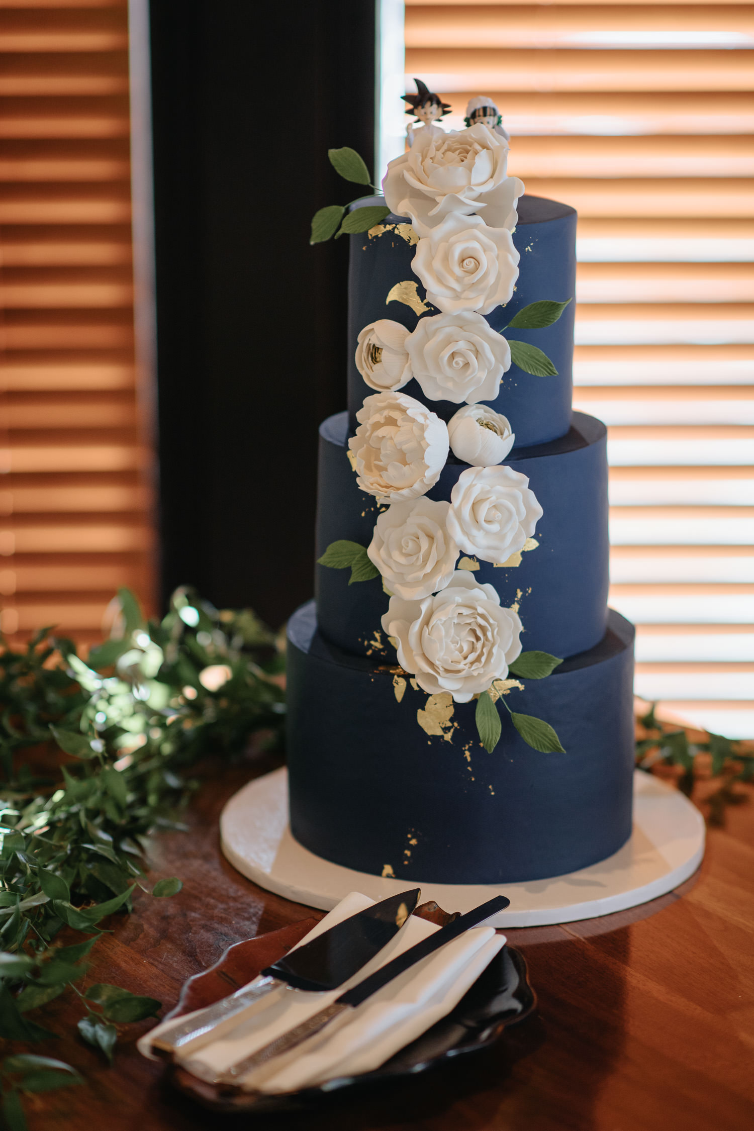 Canoe Wedding Reception Cake