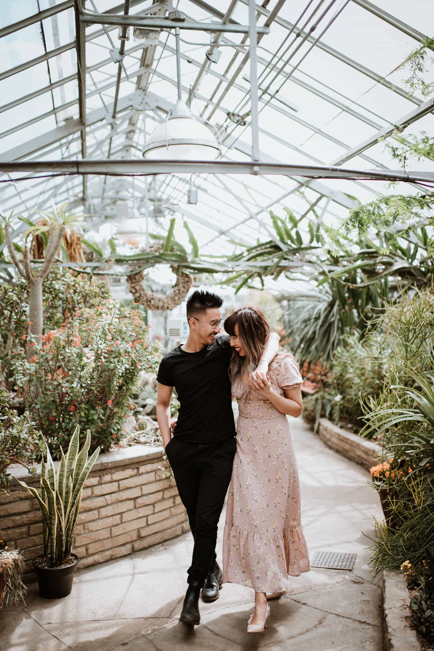Allan Gardens Greenhouse Arid House Engagement Photo
