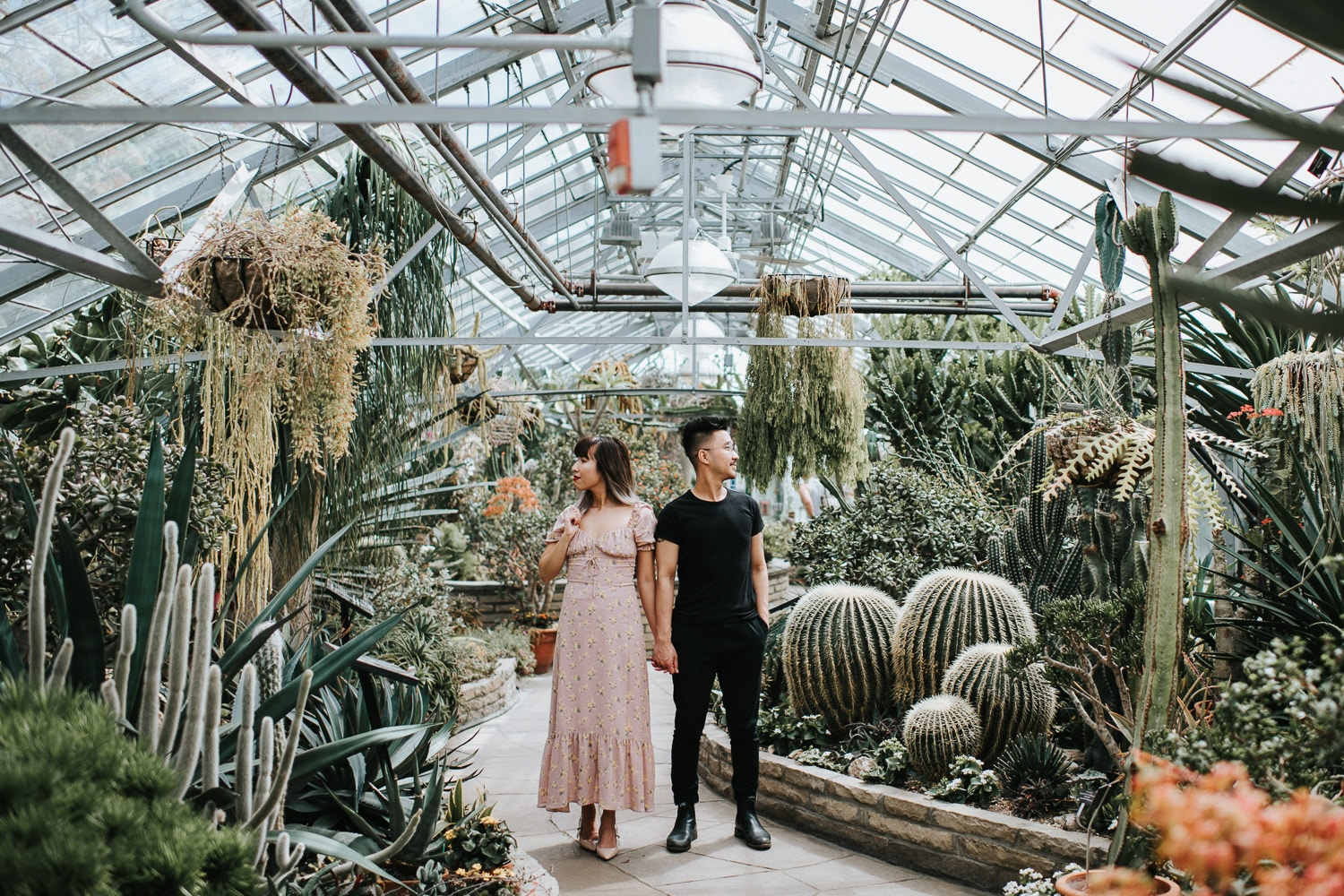 Allan Gardens Engagement Photography Location in Toronto