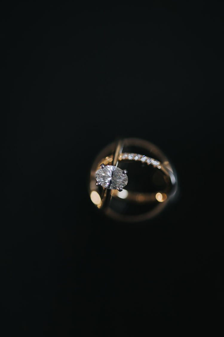 In On the Twenty Wedding Ring Detail