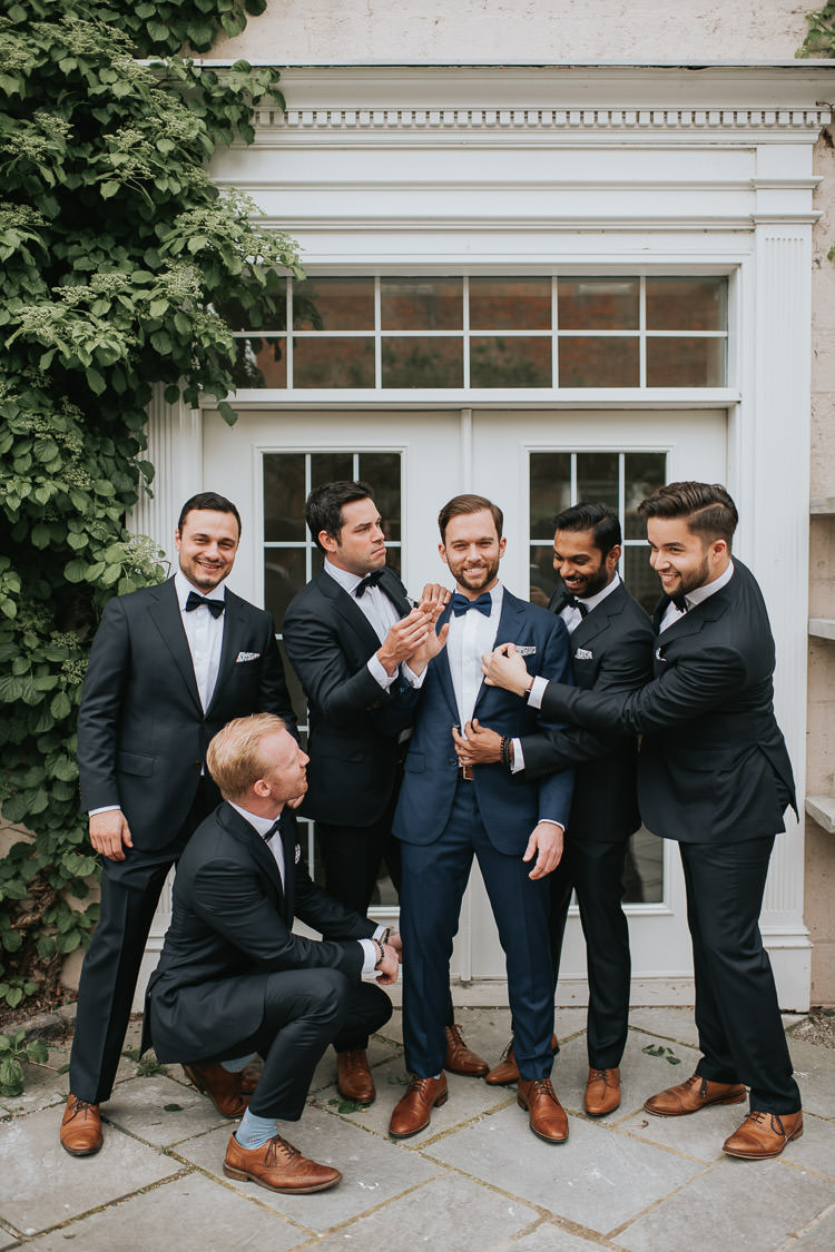 In On the Twenty Wedding Groomsmen